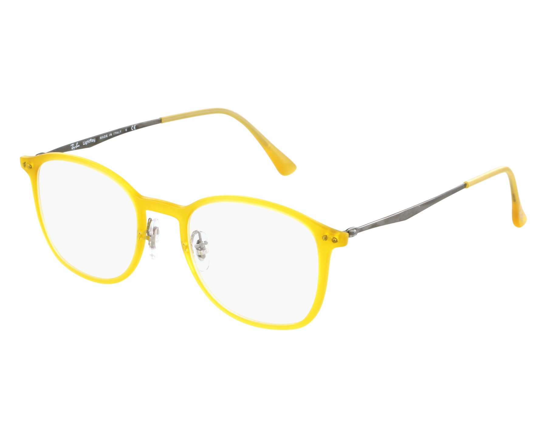 54f4fee164 eyeglasses Ray-Ban RX-7051 5519 - Yellow front view