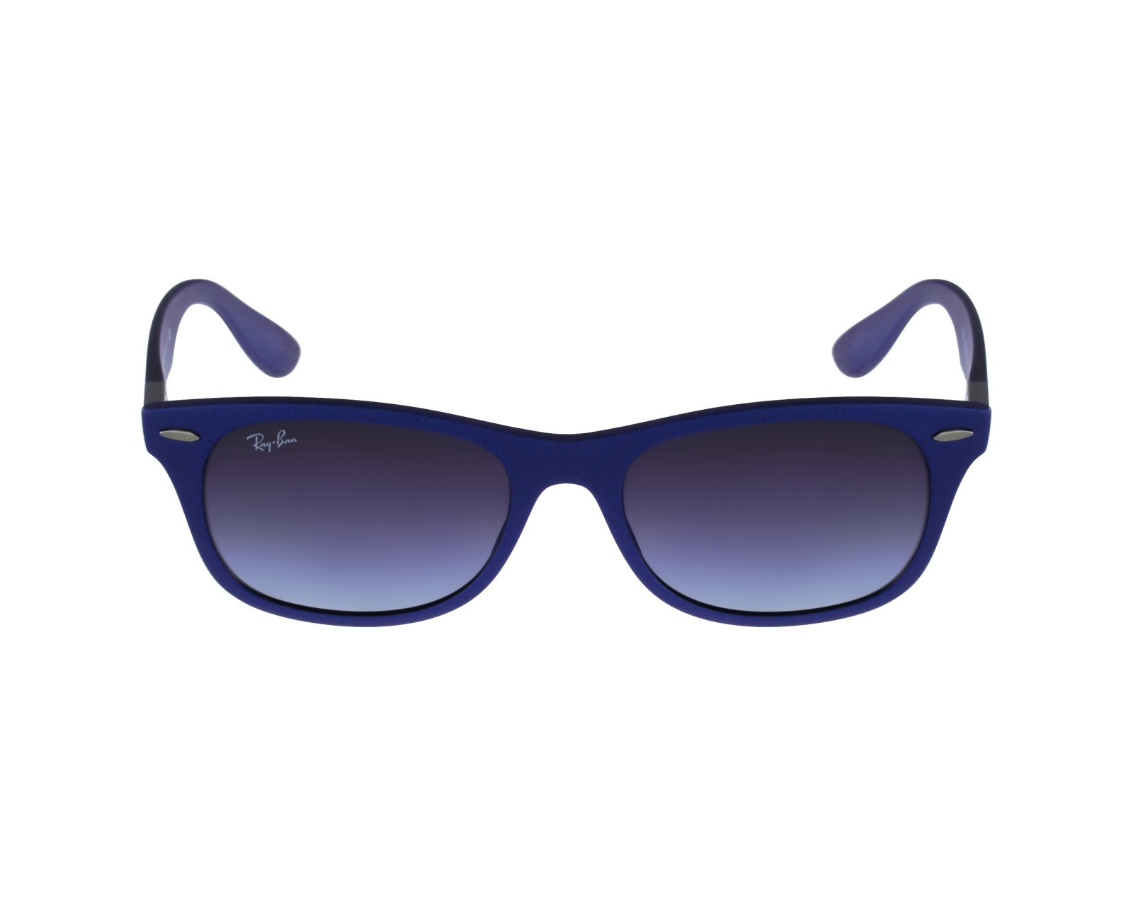 afe977b972 Sunglasses Ray-Ban RB-4207 6015 8G 55-17 Blue profile view