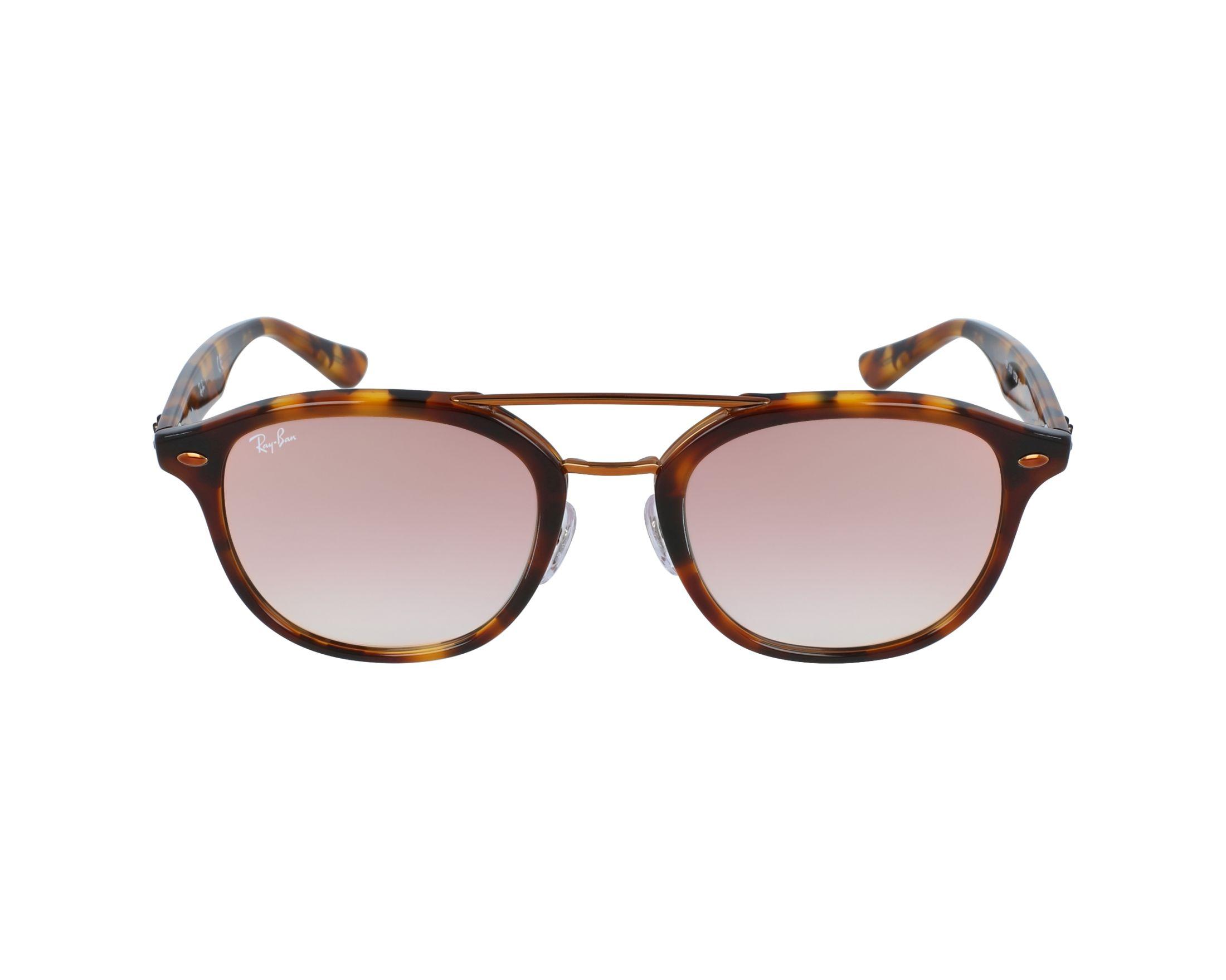 1b21e23e65 Sunglasses Ray-Ban RB-2183 1127B9 53-21 Havana Copper profile view
