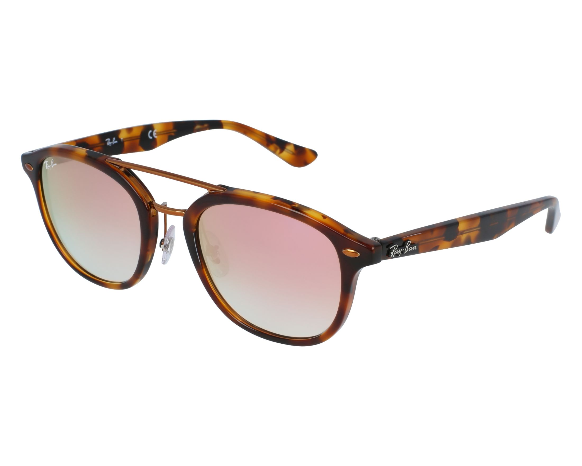 9f1329c5ad Sunglasses Ray-Ban RB-2183 1127B9 53-21 Havana Copper front view