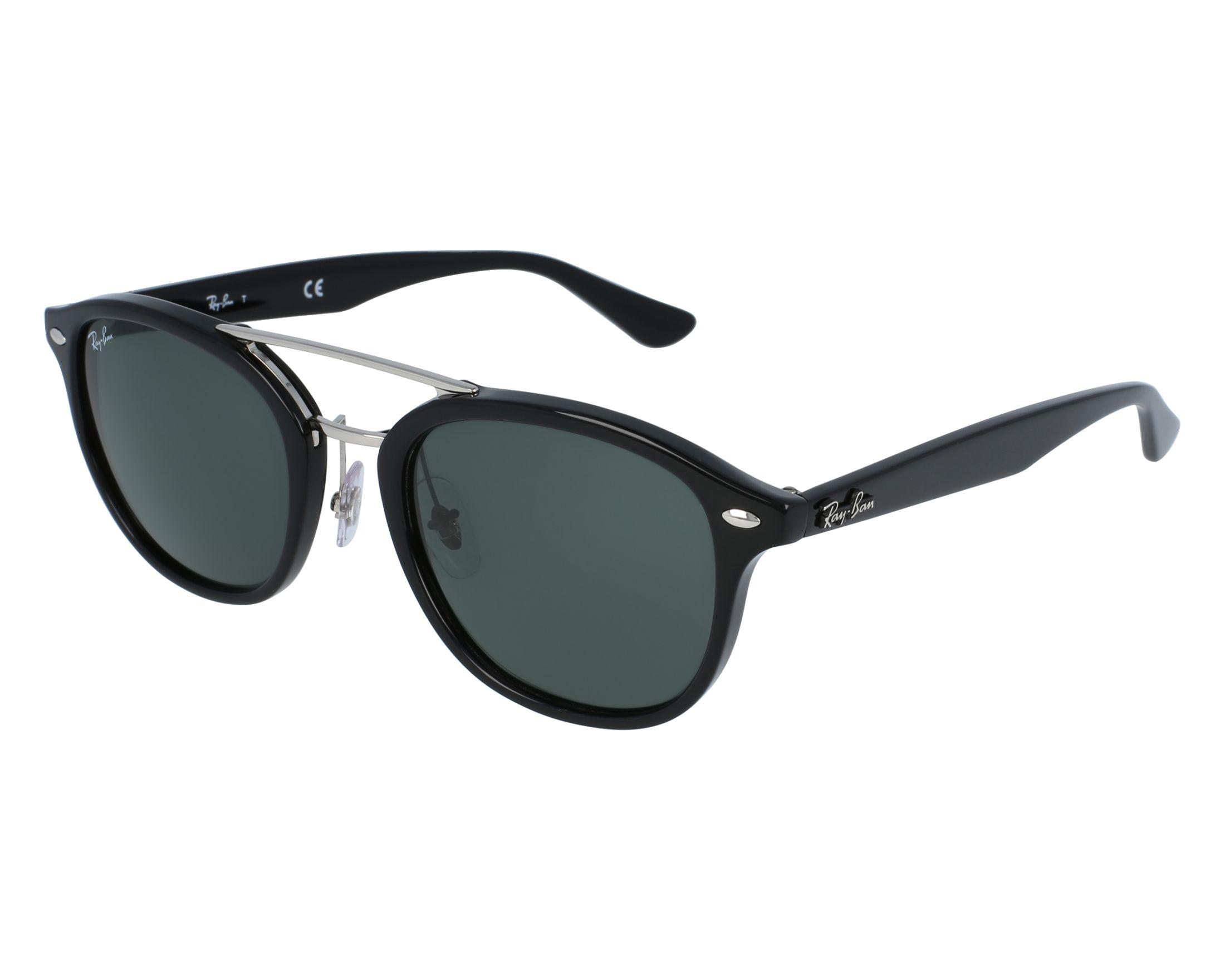 e385d8fe4e Sunglasses Ray-Ban RB-2183 901 71 53-21 Black front view