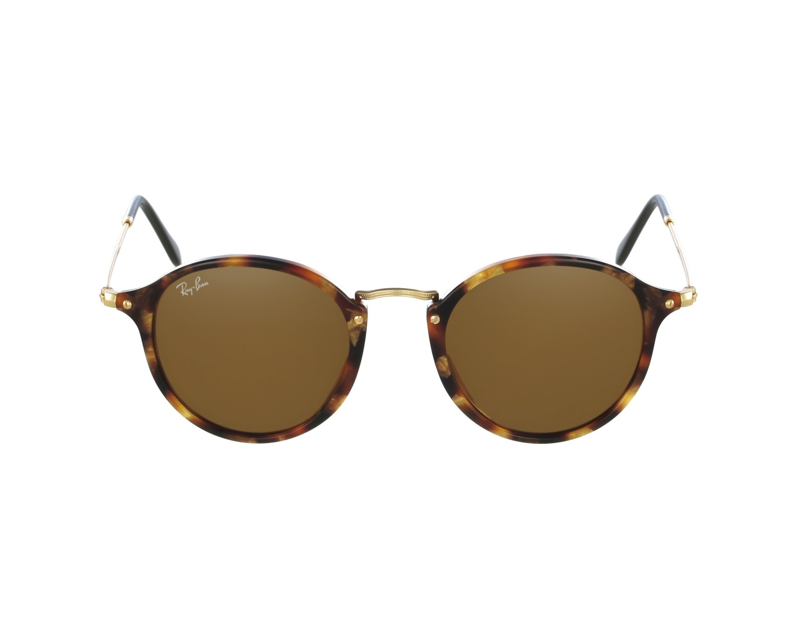 fcce535732 Sunglasses Ray-Ban RB-2447 1160 49-21 Brown Gold profile view