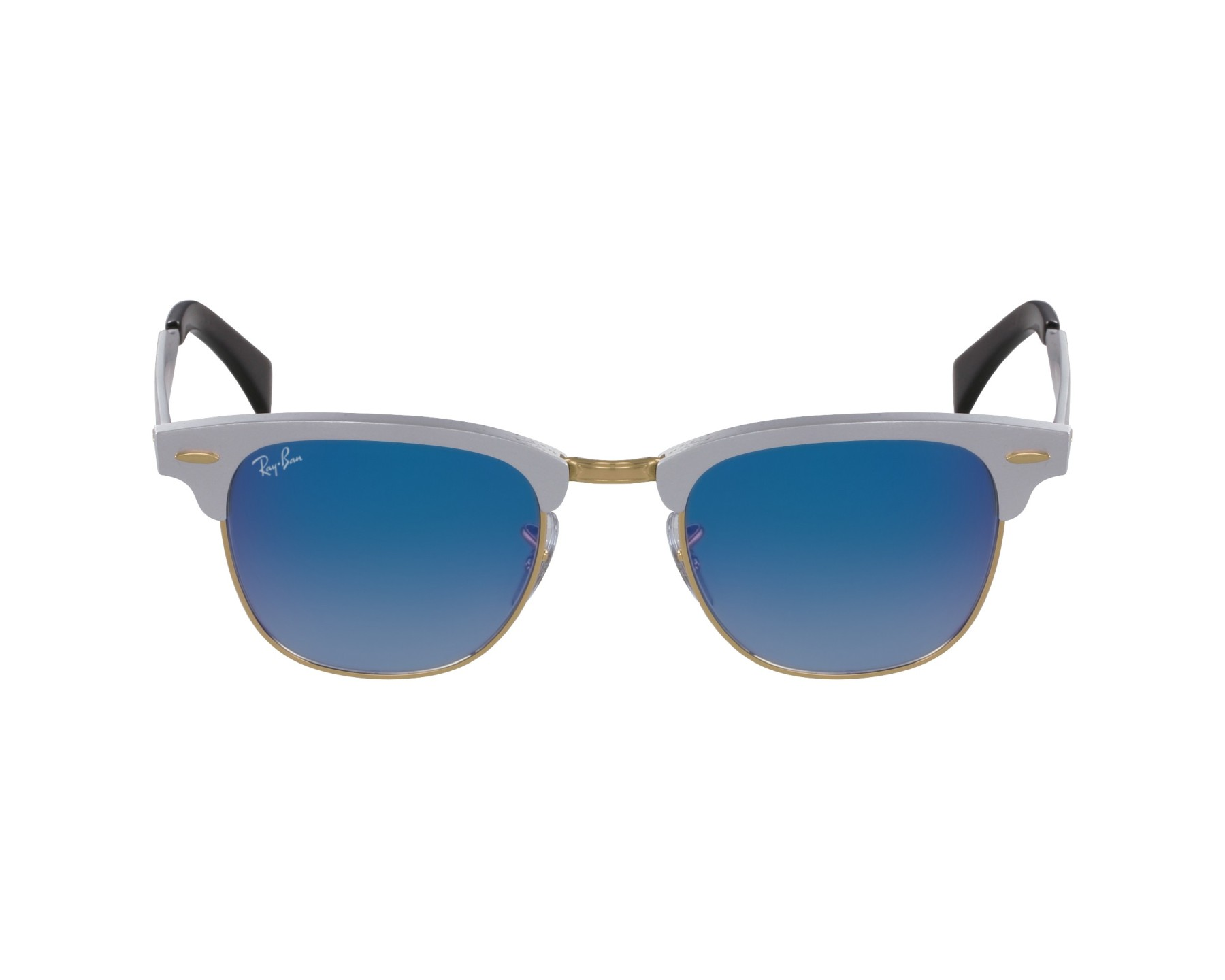 clubmaster ray ban size