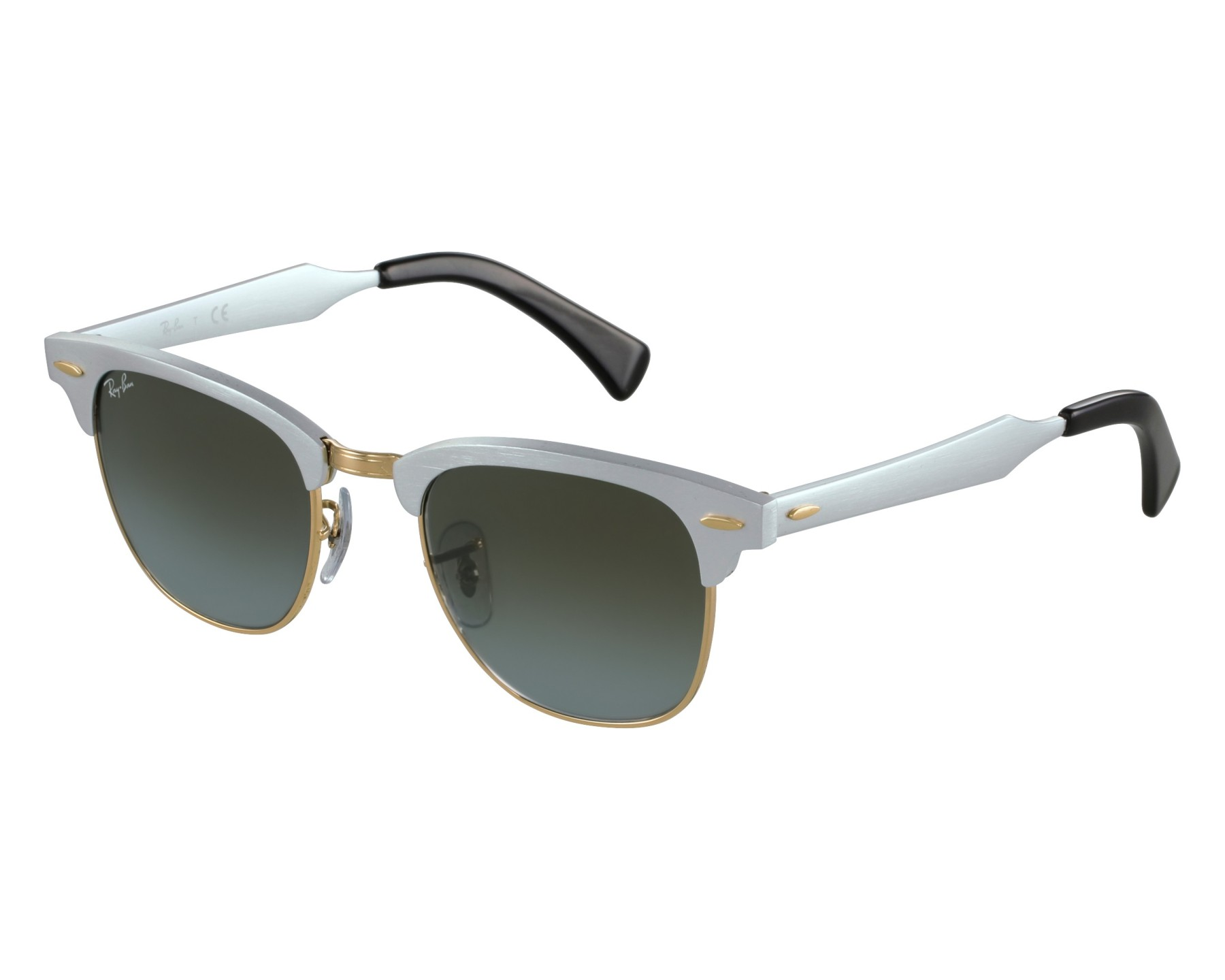 82c2637093 Sunglasses Ray-Ban RB-3507 137 9J 49-21 Silver Gold front