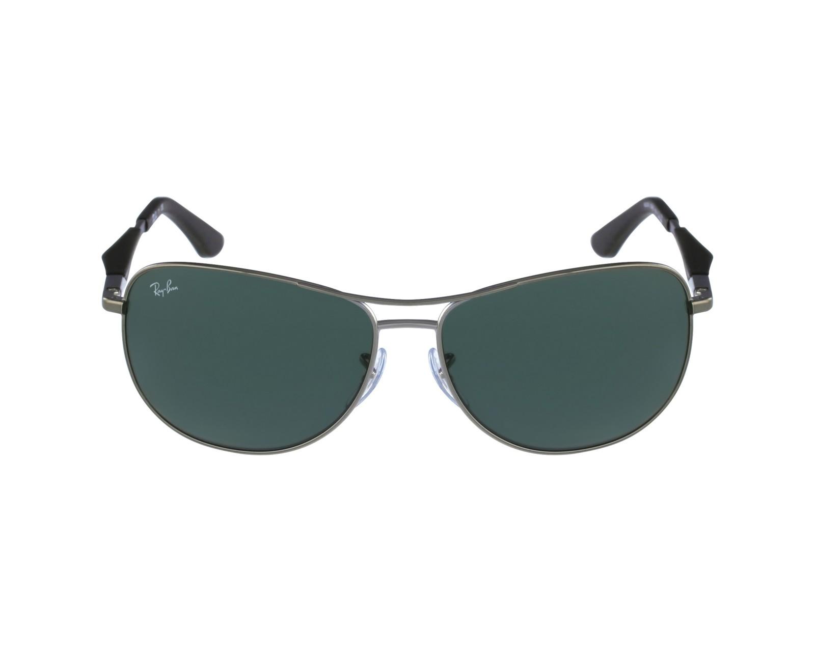 8f42a76b6f thumbnail Sunglasses Ray-Ban RB-3519 004 71 - Gun Black profile view