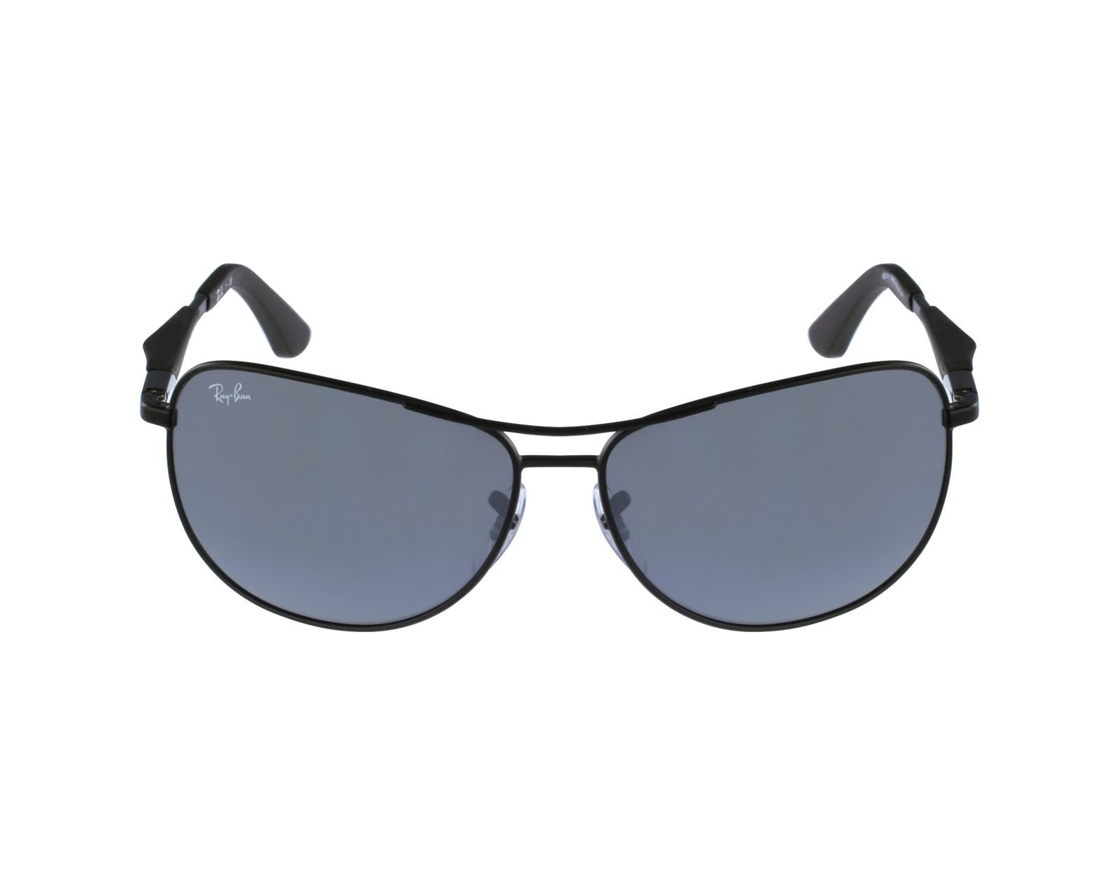 11a5f159bf thumbnail Sunglasses Ray-Ban RB-3519 006 6G - Black profile view