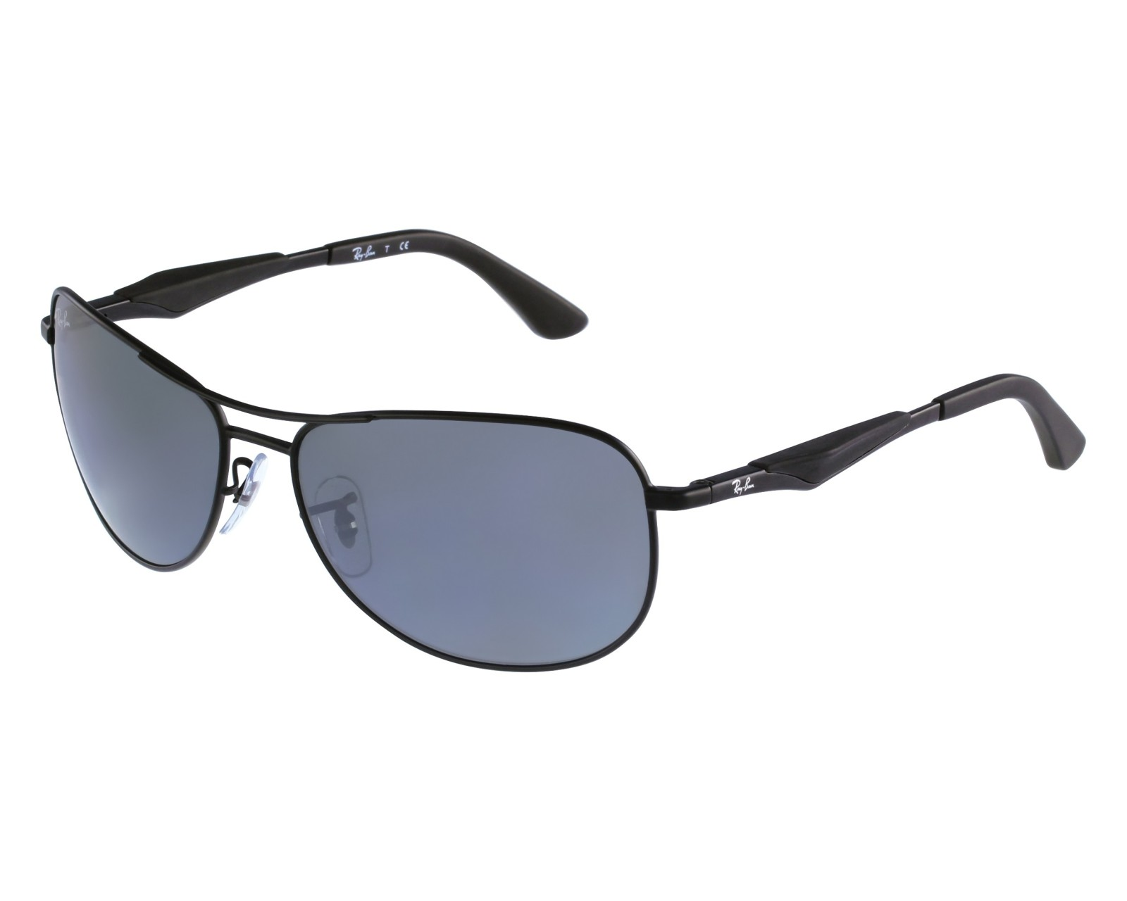 51a03deaae thumbnail Sunglasses Ray-Ban RB-3519 006 6G - Black front view