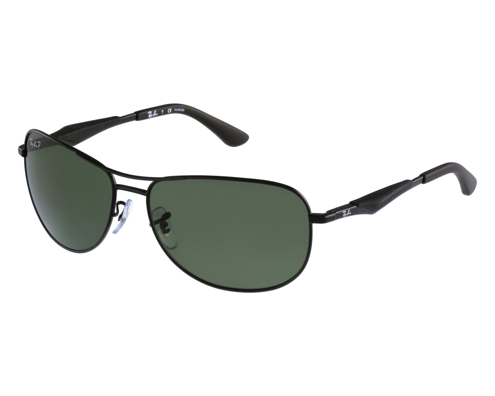 dbd605858e thumbnail Sunglasses Ray-Ban RB-3519 006 9A - Black front view