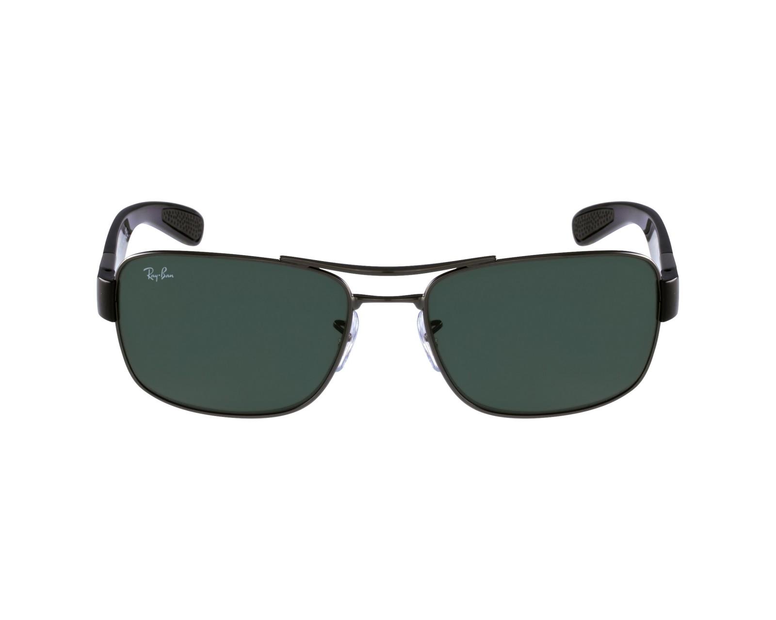 c1c5c54d6b9 thumbnail Sunglasses Ray-Ban RB-3522 004 71 - Gun Black profile view