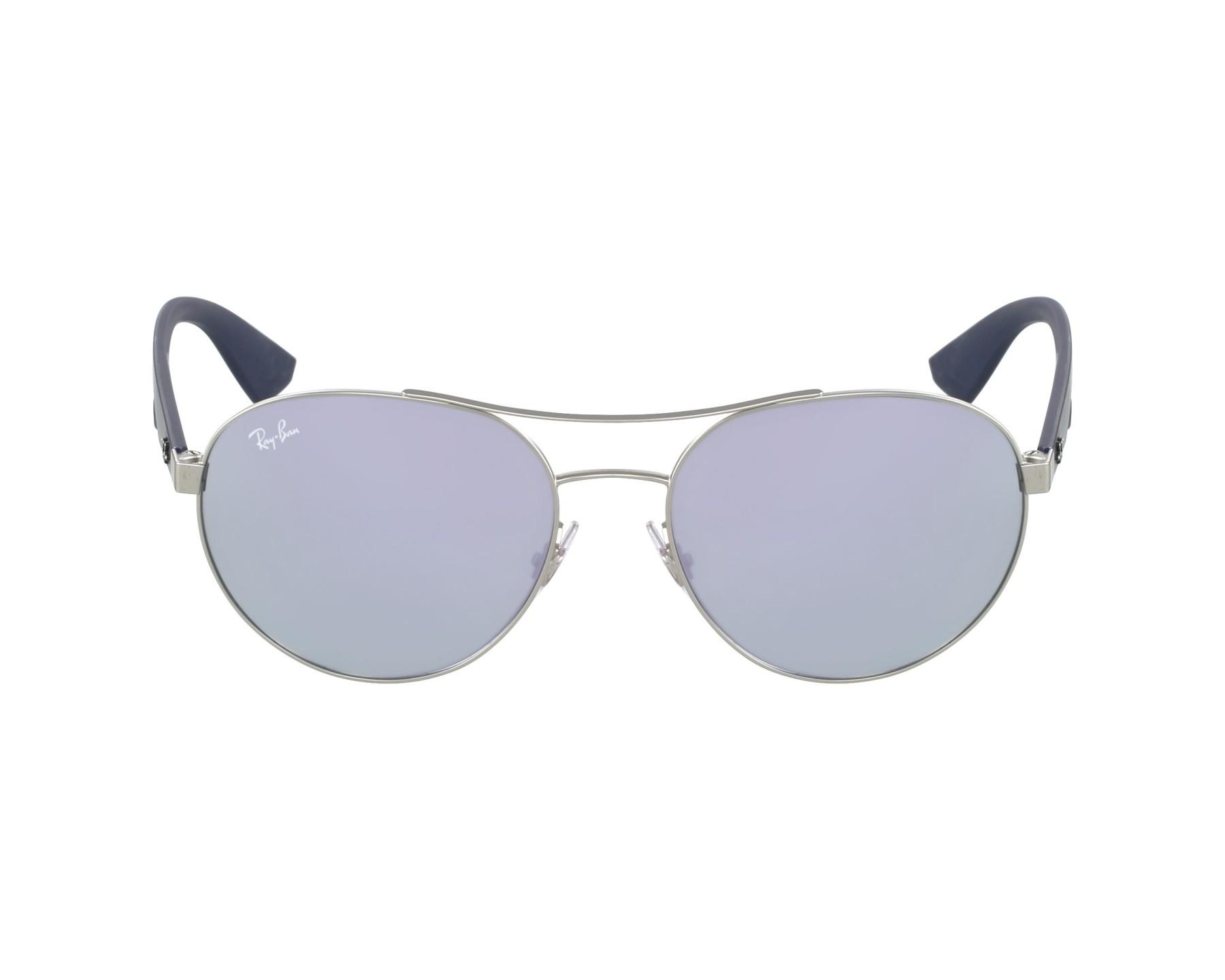 57da2207f87 Sunglasses Ray-Ban RB-3536 019 4V 55-18 Silver Blue profile