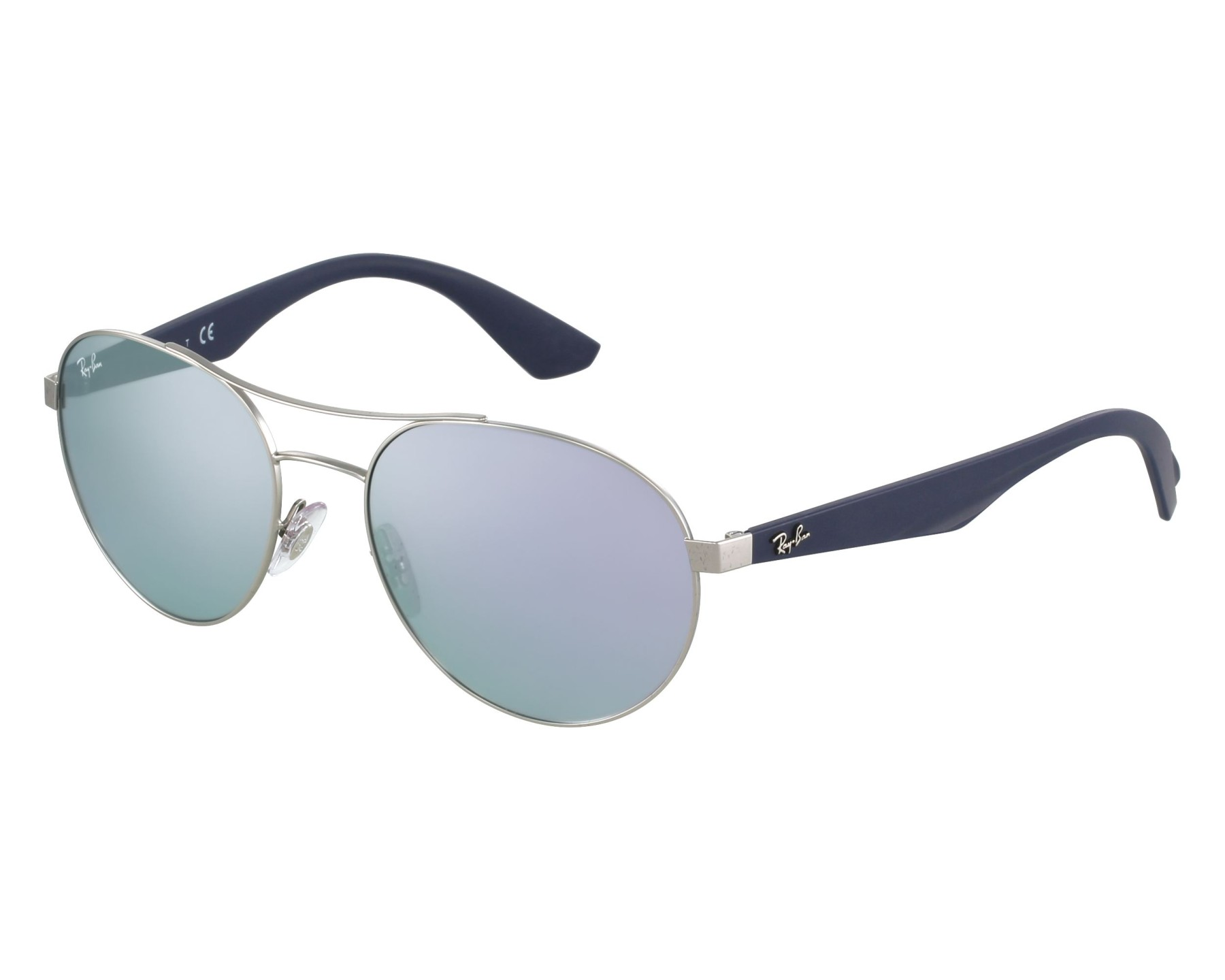 648759a6f74 Sunglasses Ray-Ban RB-3536 019 4V 55-18 Silver Blue front