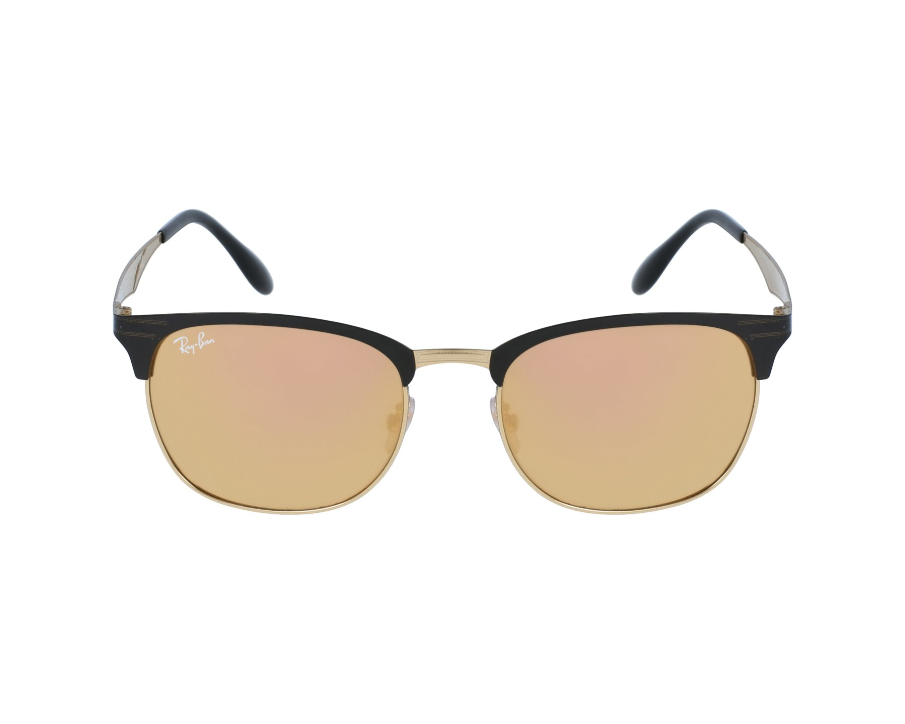 4d7fe961a29 Sunglasses Ray-Ban RB-3538 187 2Y 53-19 Gold Black profile