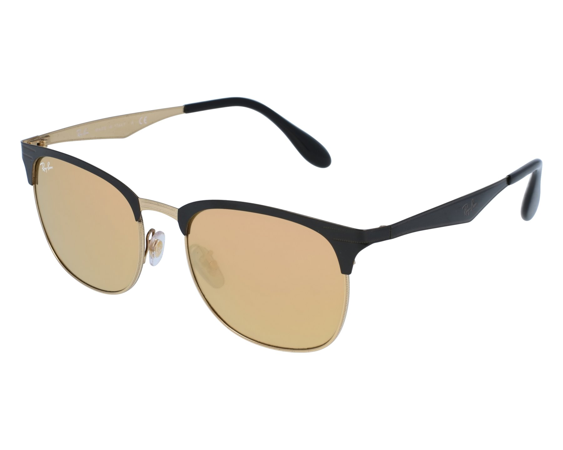 dc5eabf07c1 Sunglasses Ray-Ban RB-3538 187 2Y 53-19 Gold Black front