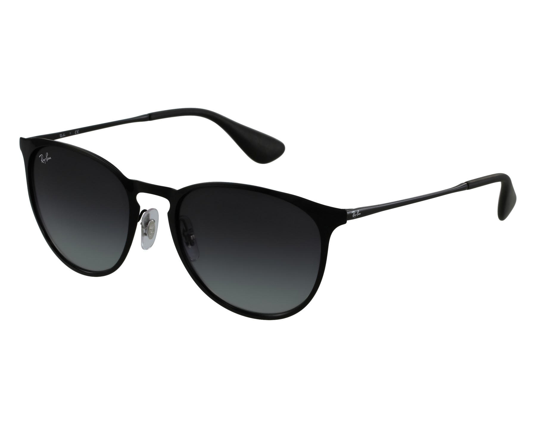 Sunglasses Ray-Ban RB-3539 002 8G 54-19 Black front view 32ee380443fb