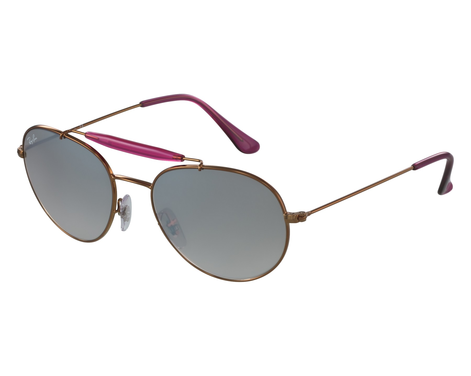 534781c7fb Sunglasses Ray-Ban RB-3540 198 90 53-18 Gold Pink front