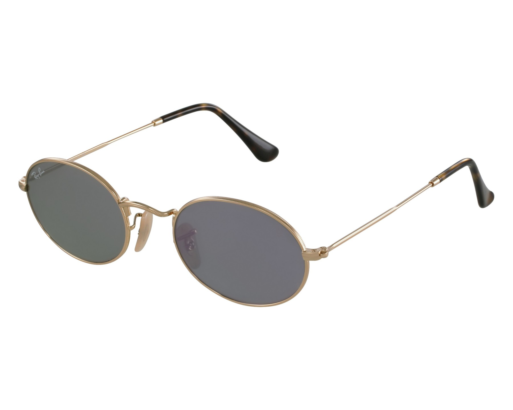 68106ed1088 Sunglasses Ray-Ban RB-3547-N 001 8O - Gold front view