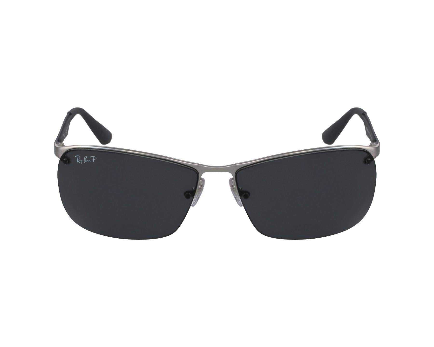 30840cee9fb thumbnail Sunglasses Ray-Ban RB-3550 019 81 - Silver Grey profile view