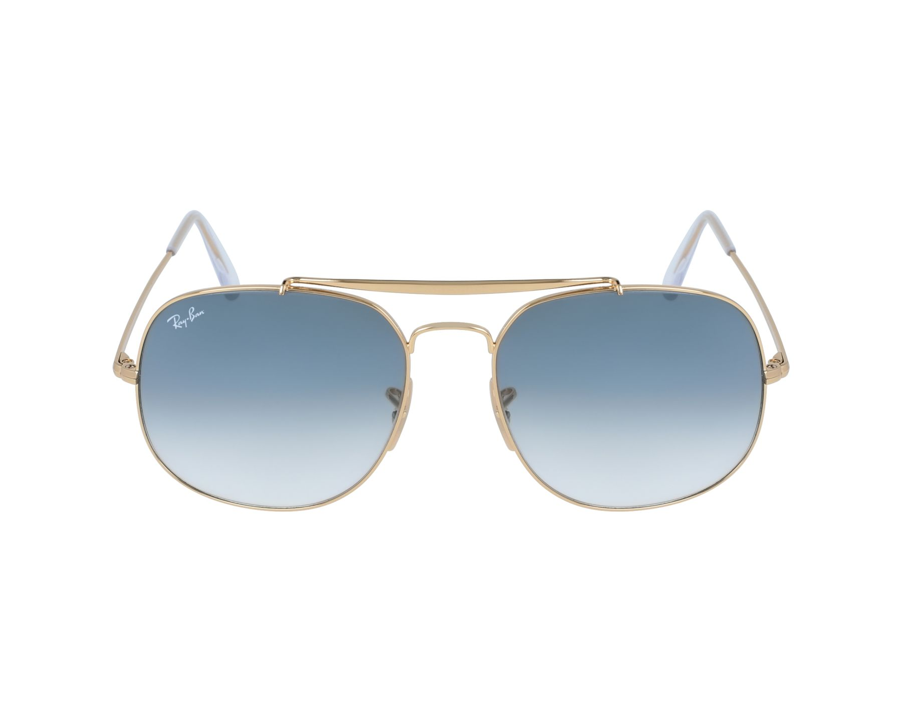 f98fc53bea6 thumbnail Sunglasses Ray-Ban RB-3561 001 3F - Gold profile view