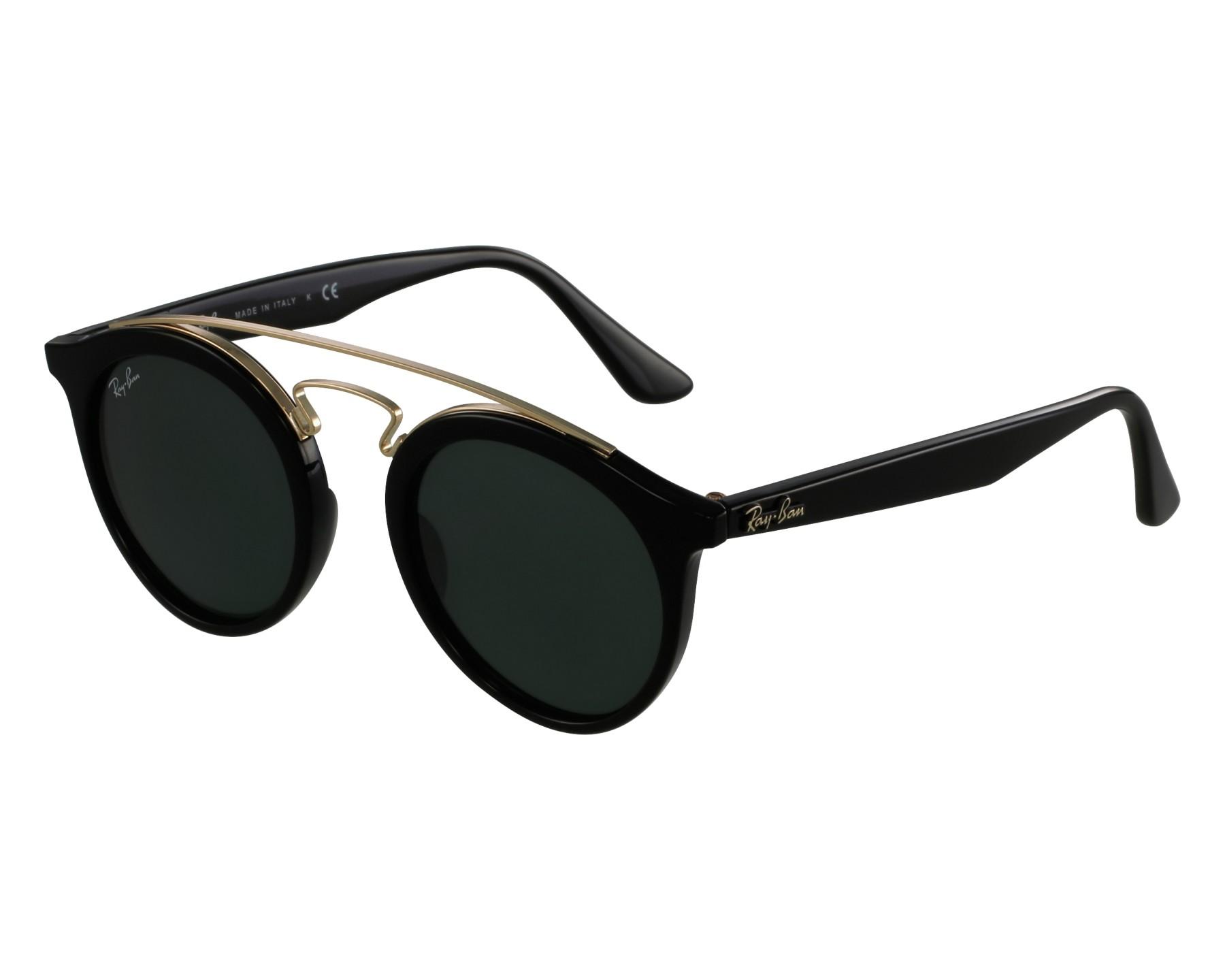 cb6cb92274fc83 Sunglasses Ray-Ban RB-4256 601 71 46-20 Black Gold front