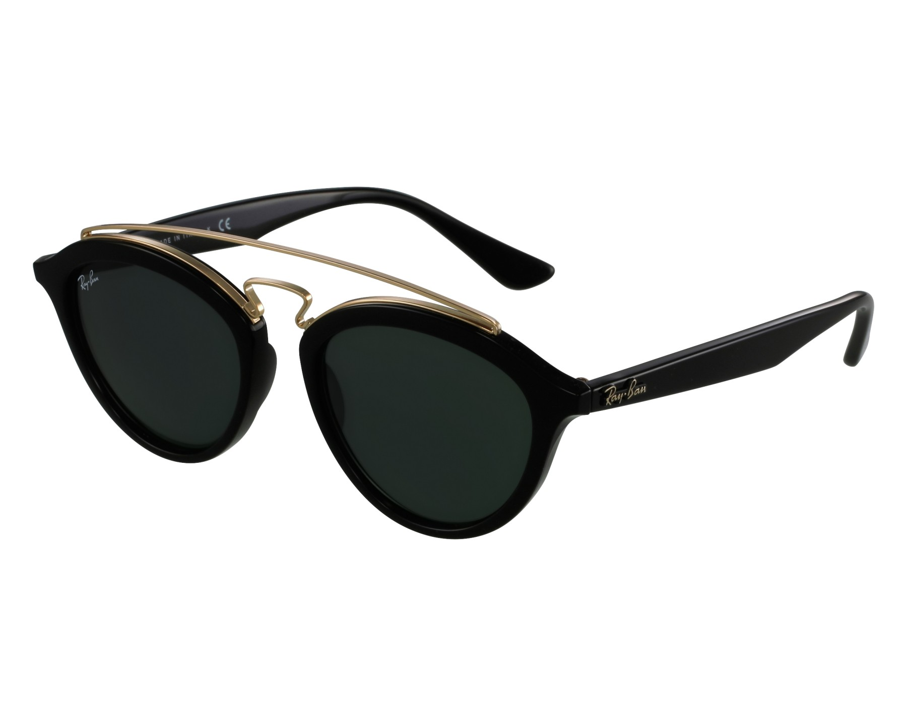 c1115c7824 Sunglasses Ray-Ban RB-4257 601 71 53-19 Black Gold front