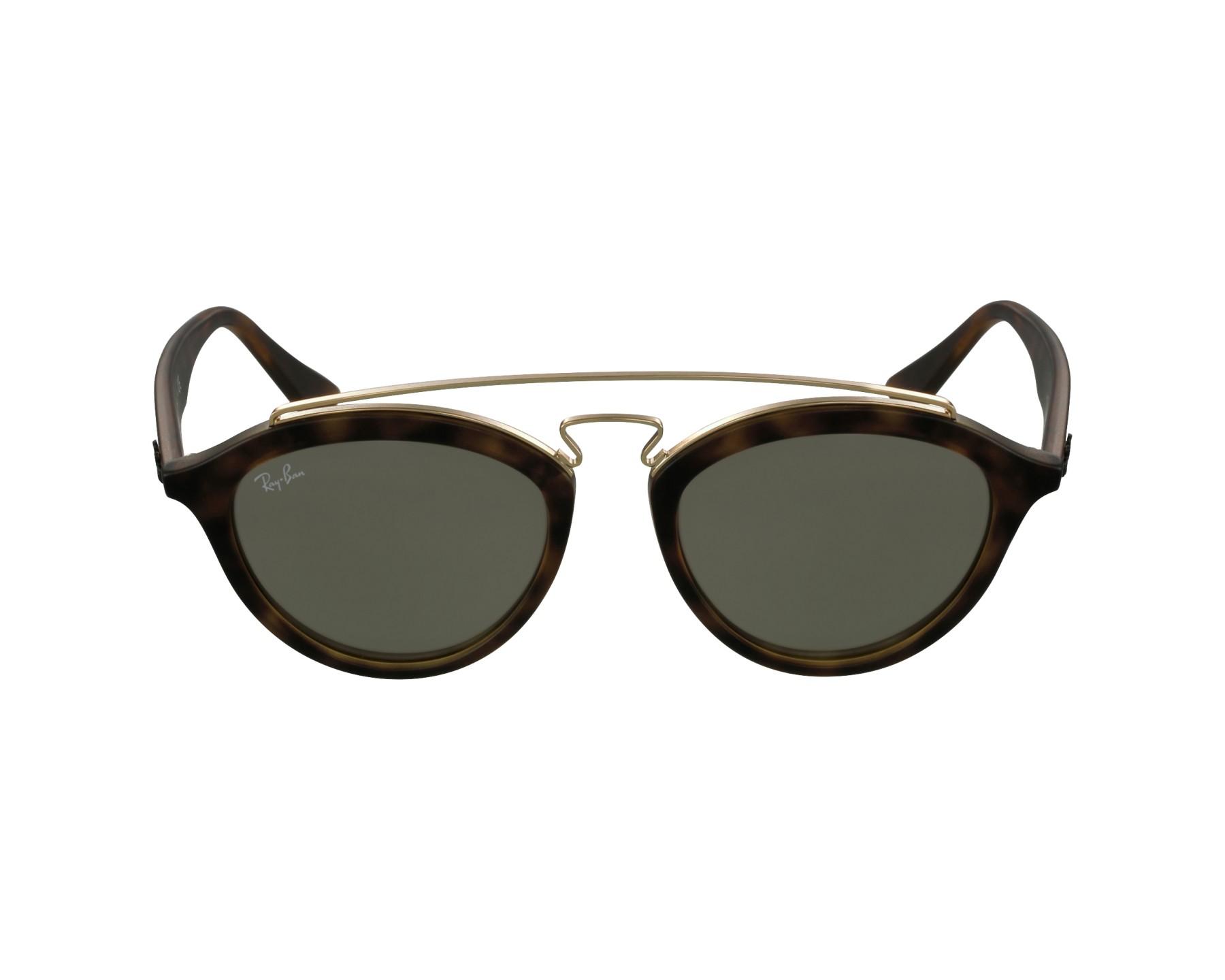 e622fda741 Sunglasses Ray-Ban RB-4257 6092 5A 53-19 Havana Gold profile