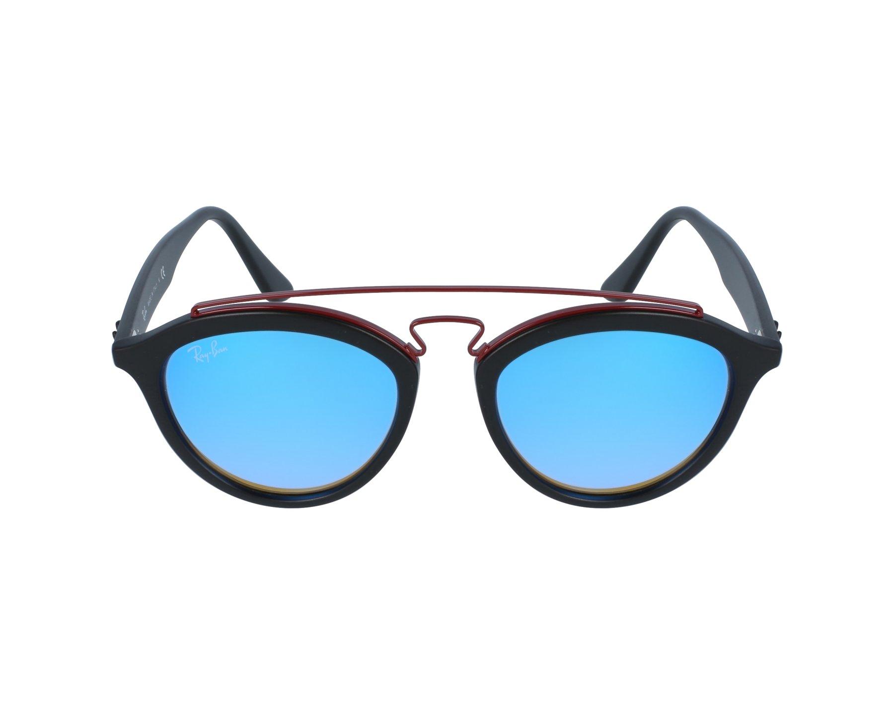 ba8cd04de9 Sunglasses Ray-Ban RB-4257 6252 B7 50-19 Black Bordeaux profile