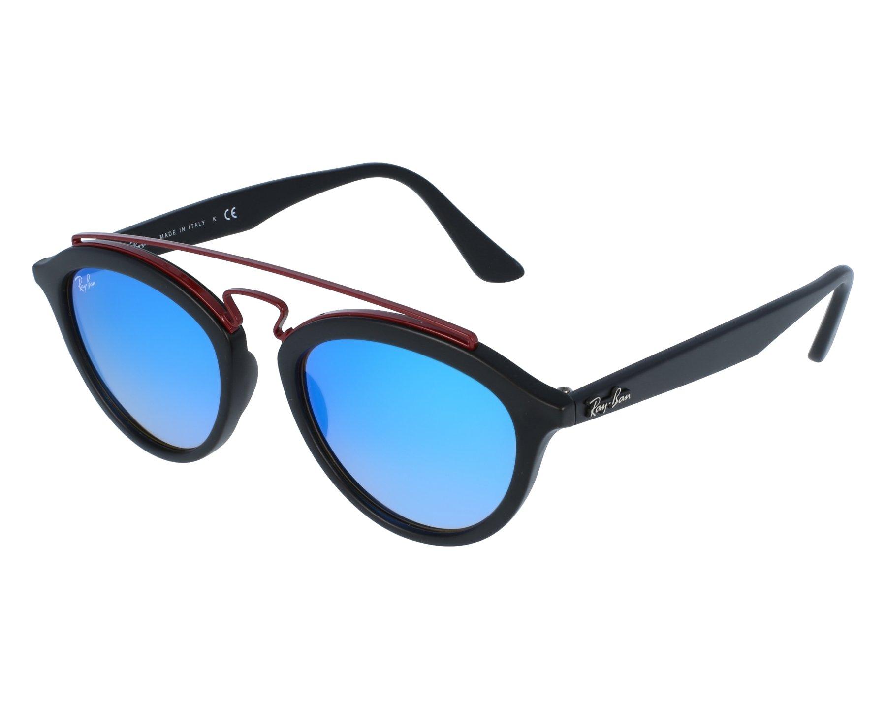 0d9706661b Sunglasses Ray-Ban RB-4257 6252 B7 50-19 Black Bordeaux front