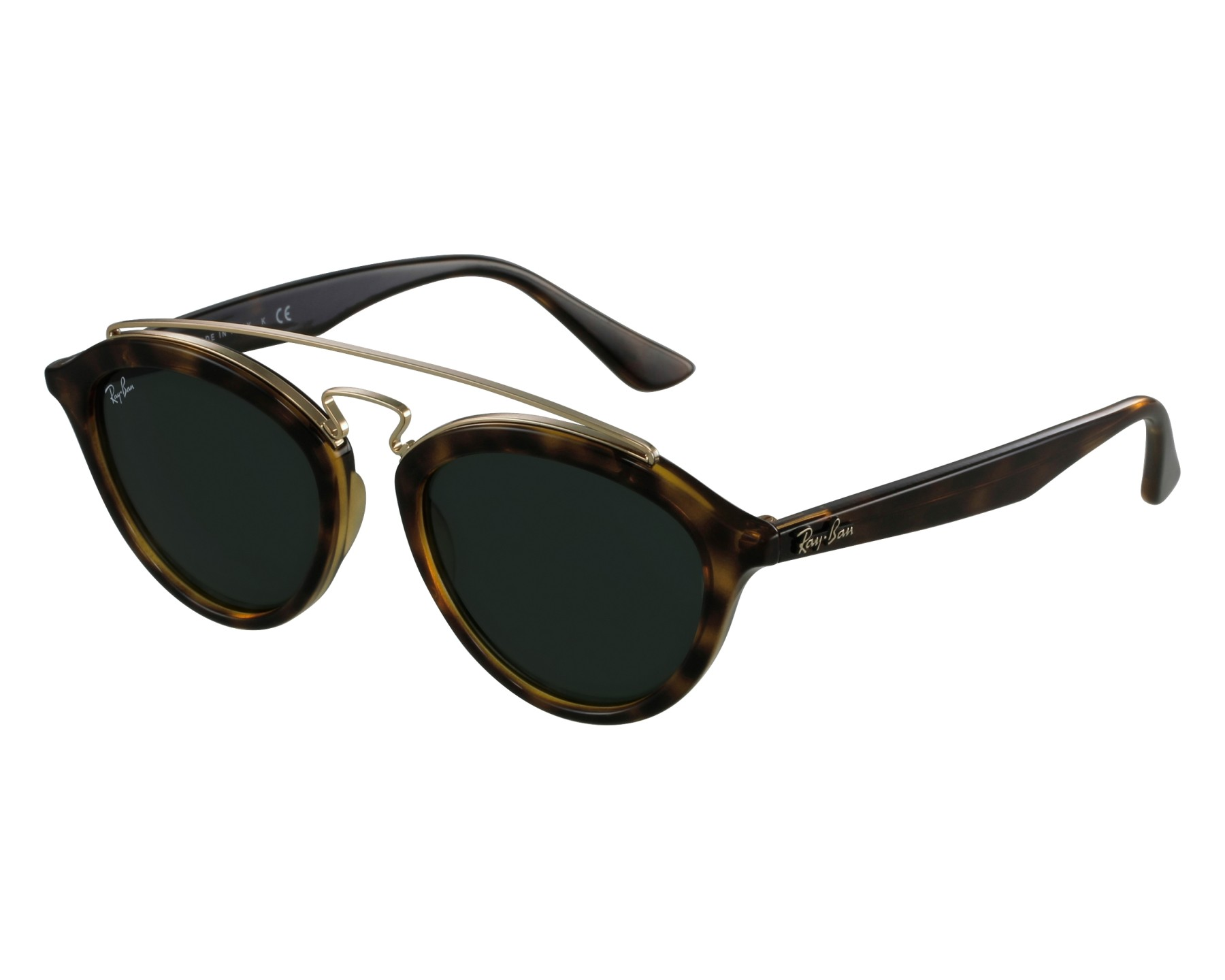 a8c8ac4f13 Sunglasses Ray-Ban RB-4257 710 71 53-19 Havana Gold front