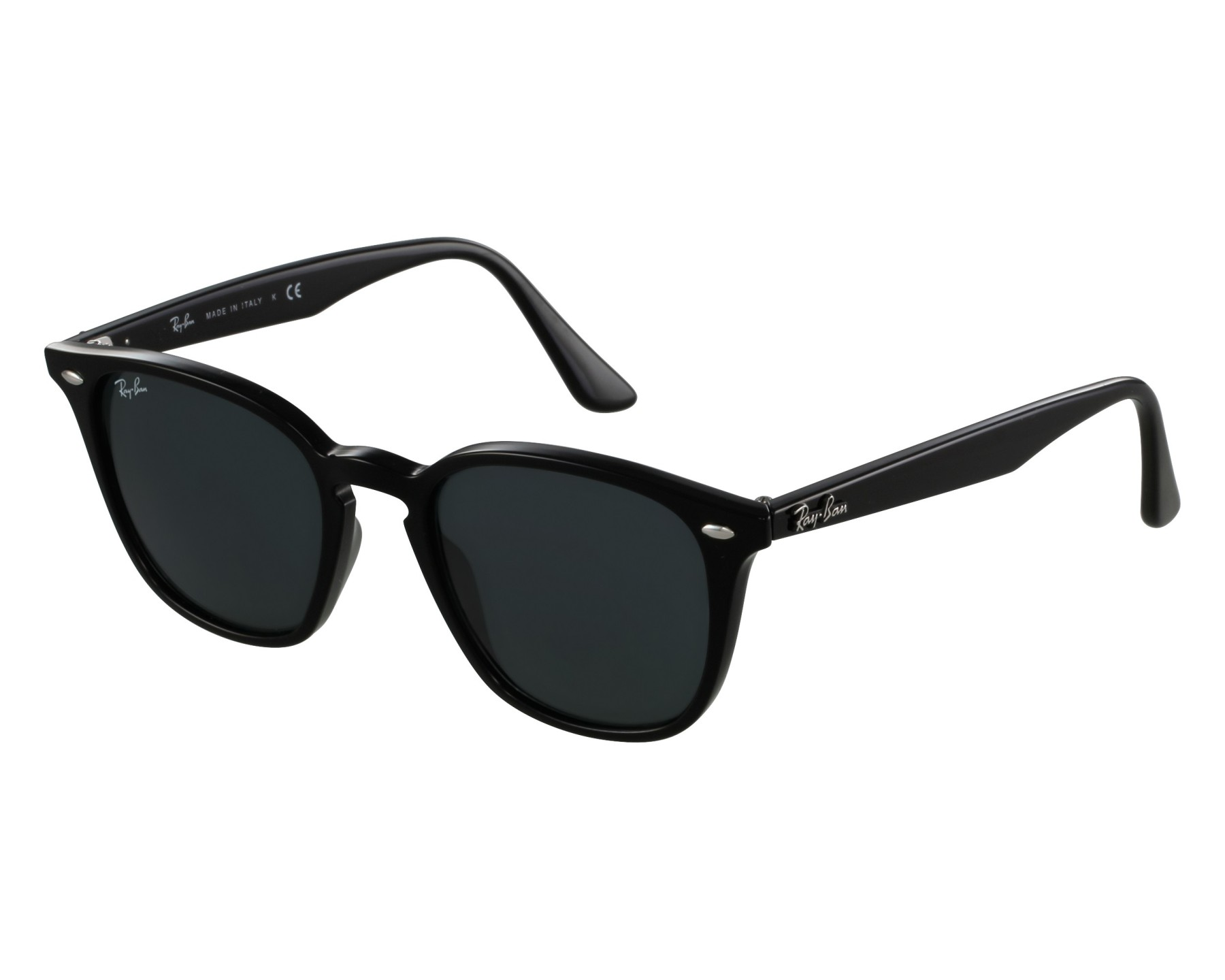 ed0ac6b6f8 thumbnail Sunglasses Ray-Ban RB-4258 601 71 - Black front view