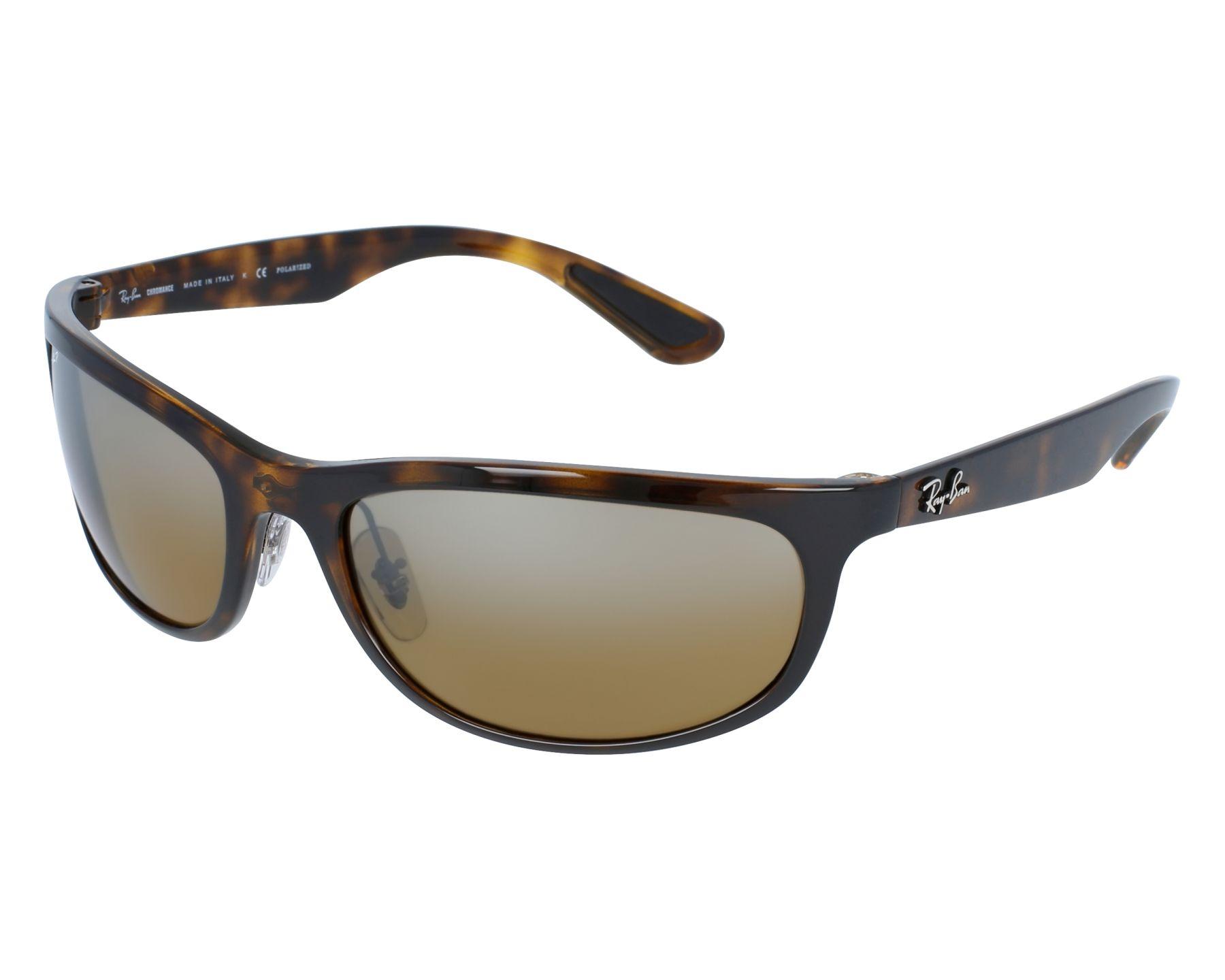 732c67885e7 thumbnail Sunglasses Ray-Ban RB-4265 710 A2 - Havana front view