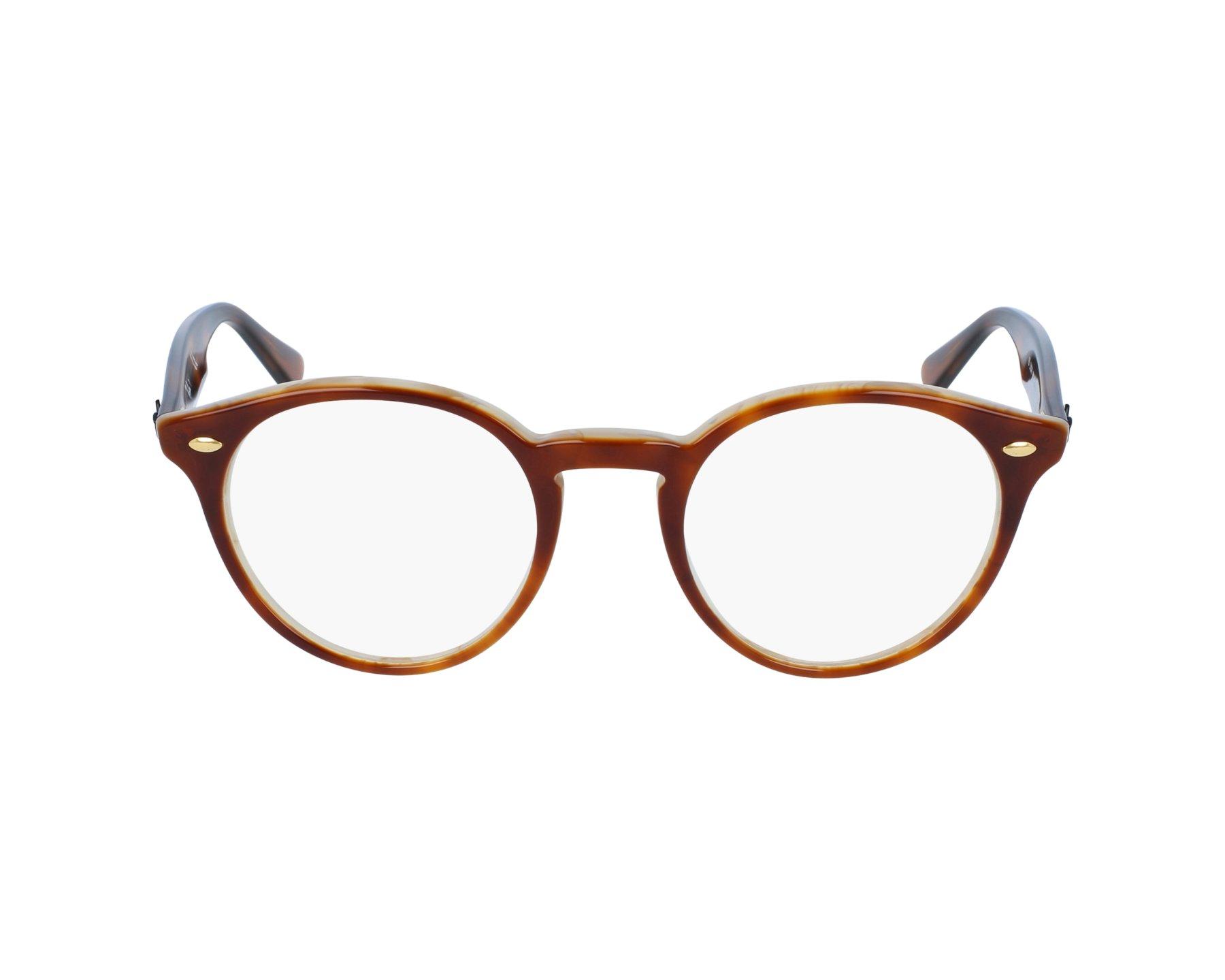 e8745629f50 eyeglasses Ray-Ban RX-2180-V 5677 47-21 Brown Havana profile