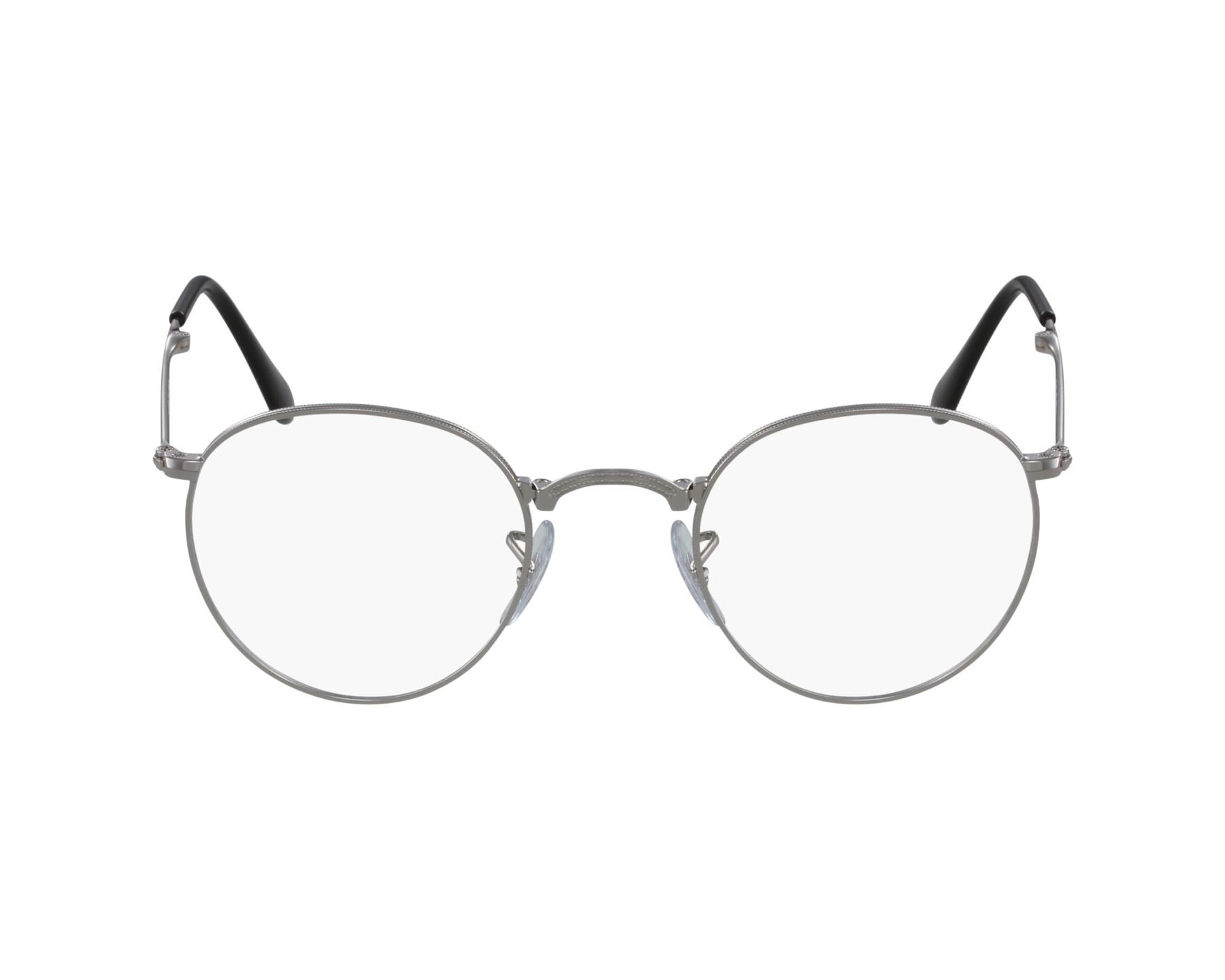 fa89b3a779a eyeglasses Ray-Ban RX-3532 2501 47-20 Silver profile view