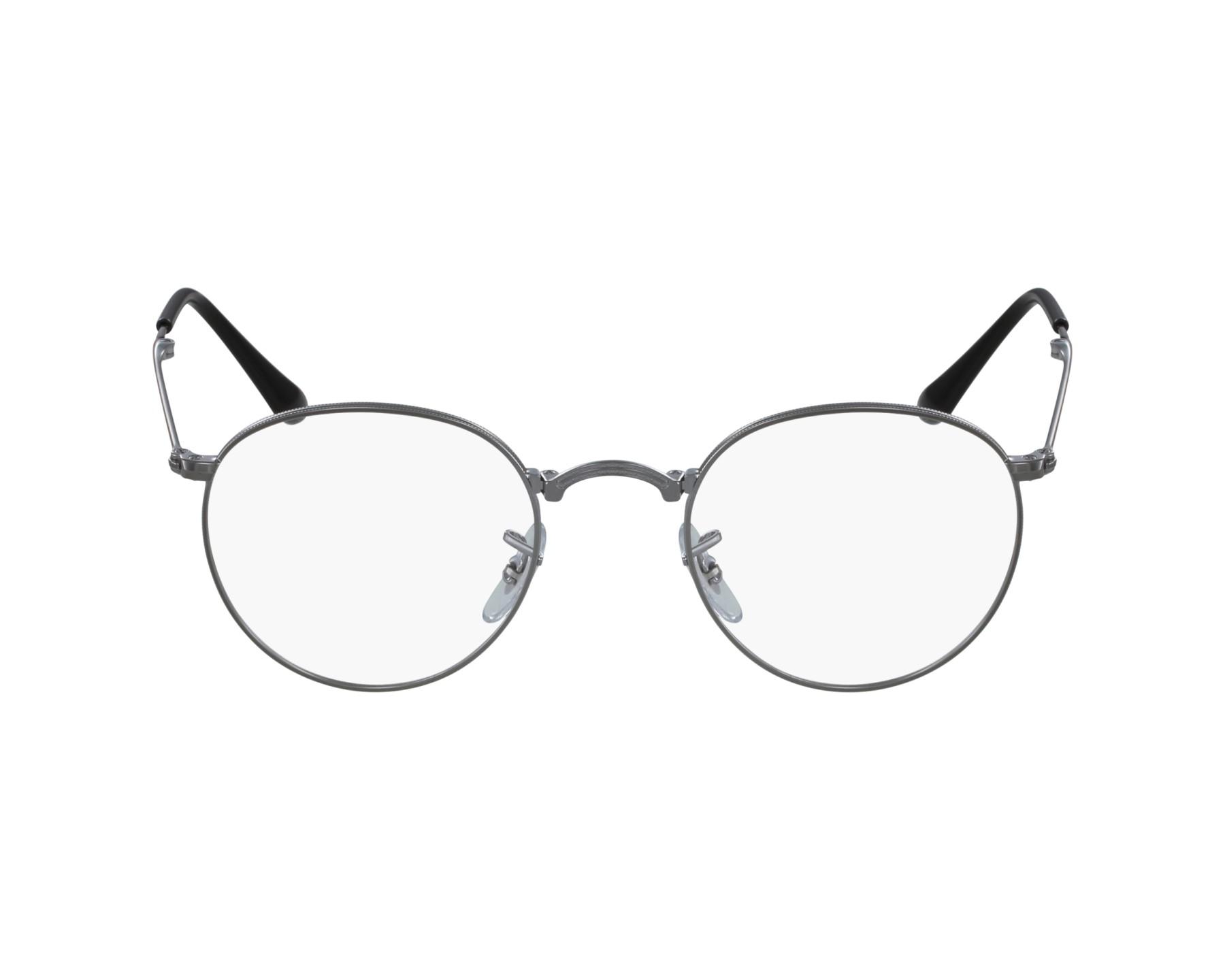 568ba3bc44c eyeglasses Ray-Ban RX-3532 2502 47-20 Silver profile view