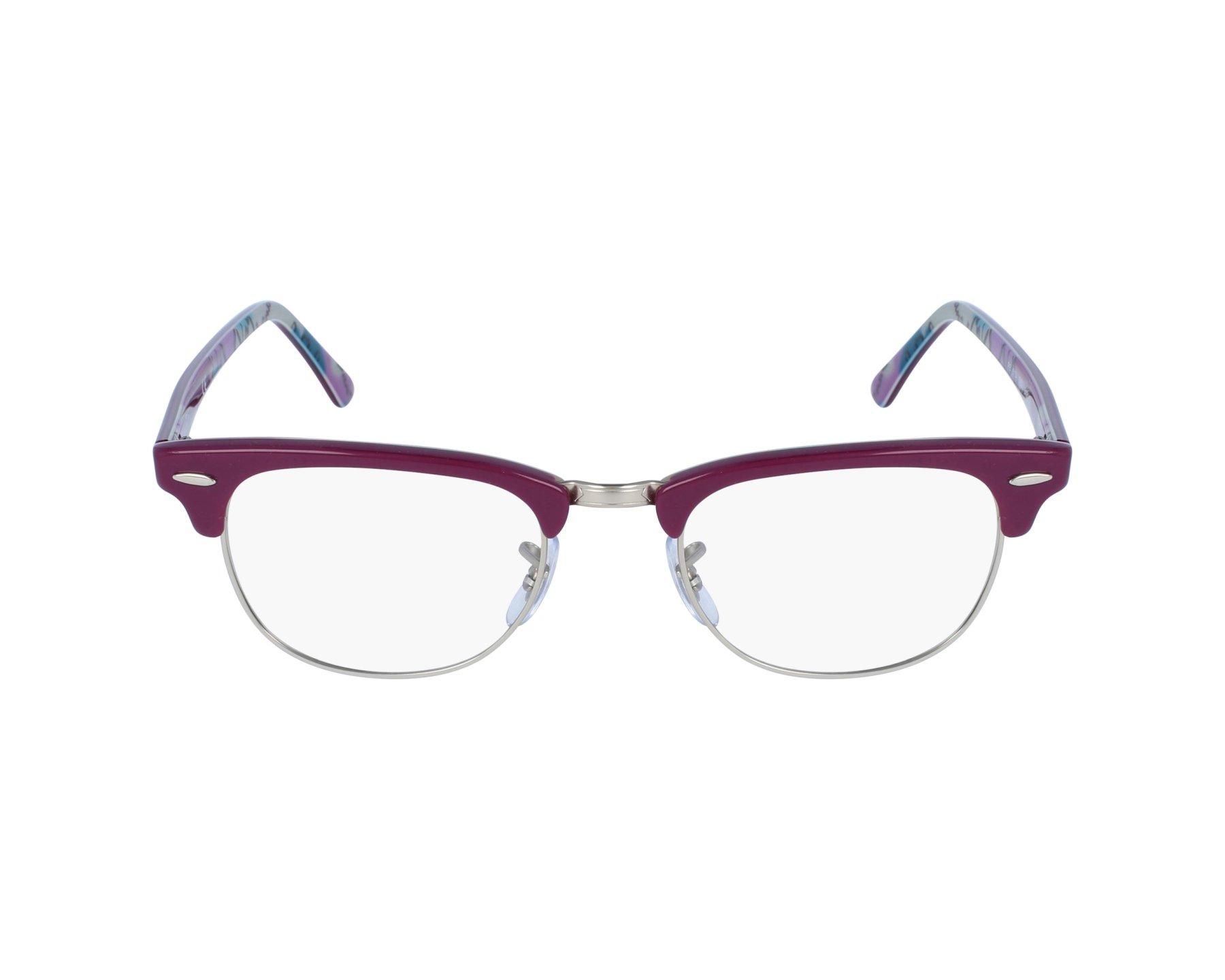 80868b2c208 eyeglasses Ray-Ban RX-5154 5652 49-21 Purple Silver profile view