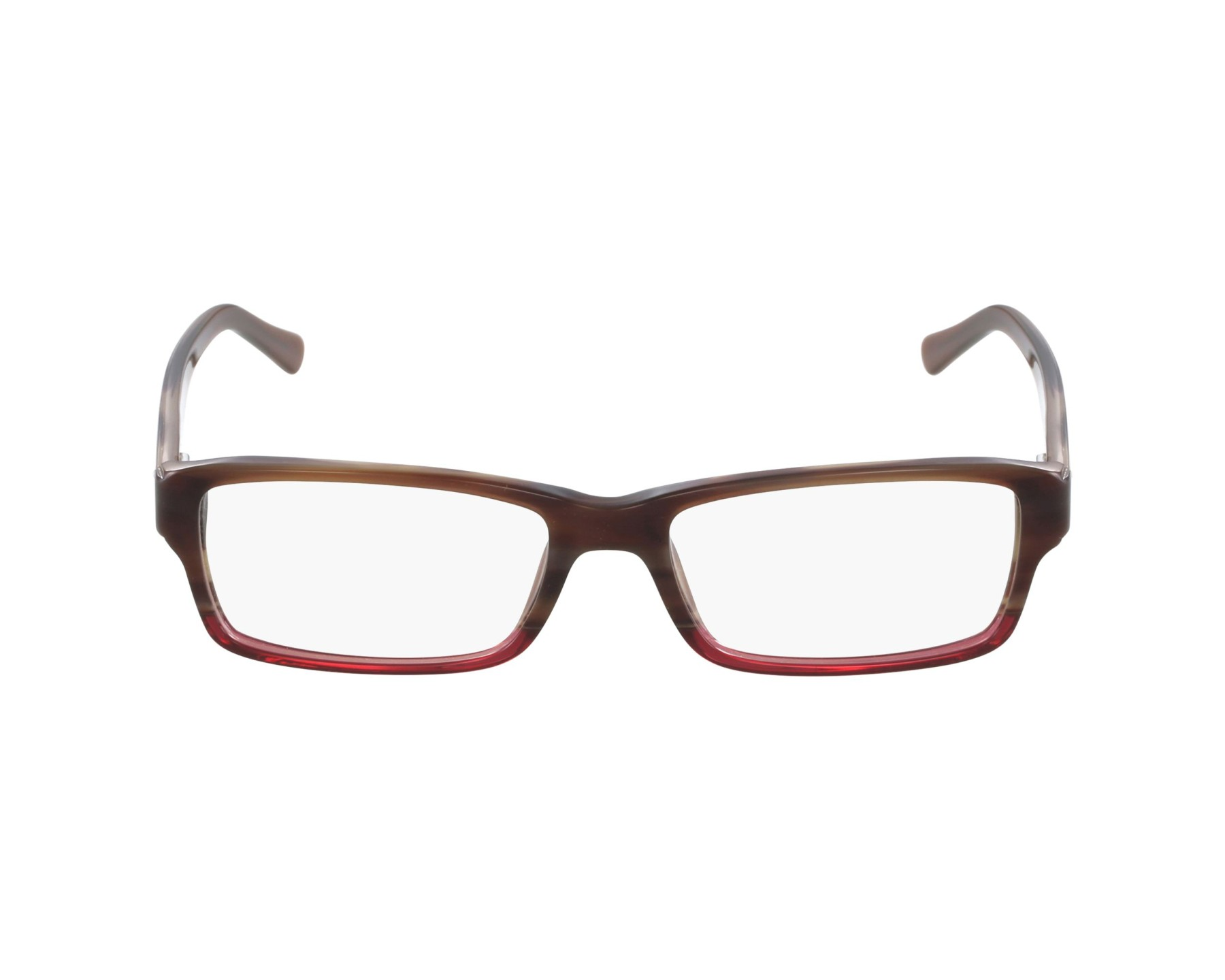 28797ee9189 eyeglasses Ray-Ban RX-5169 5541 54-16 Brown Red profile view