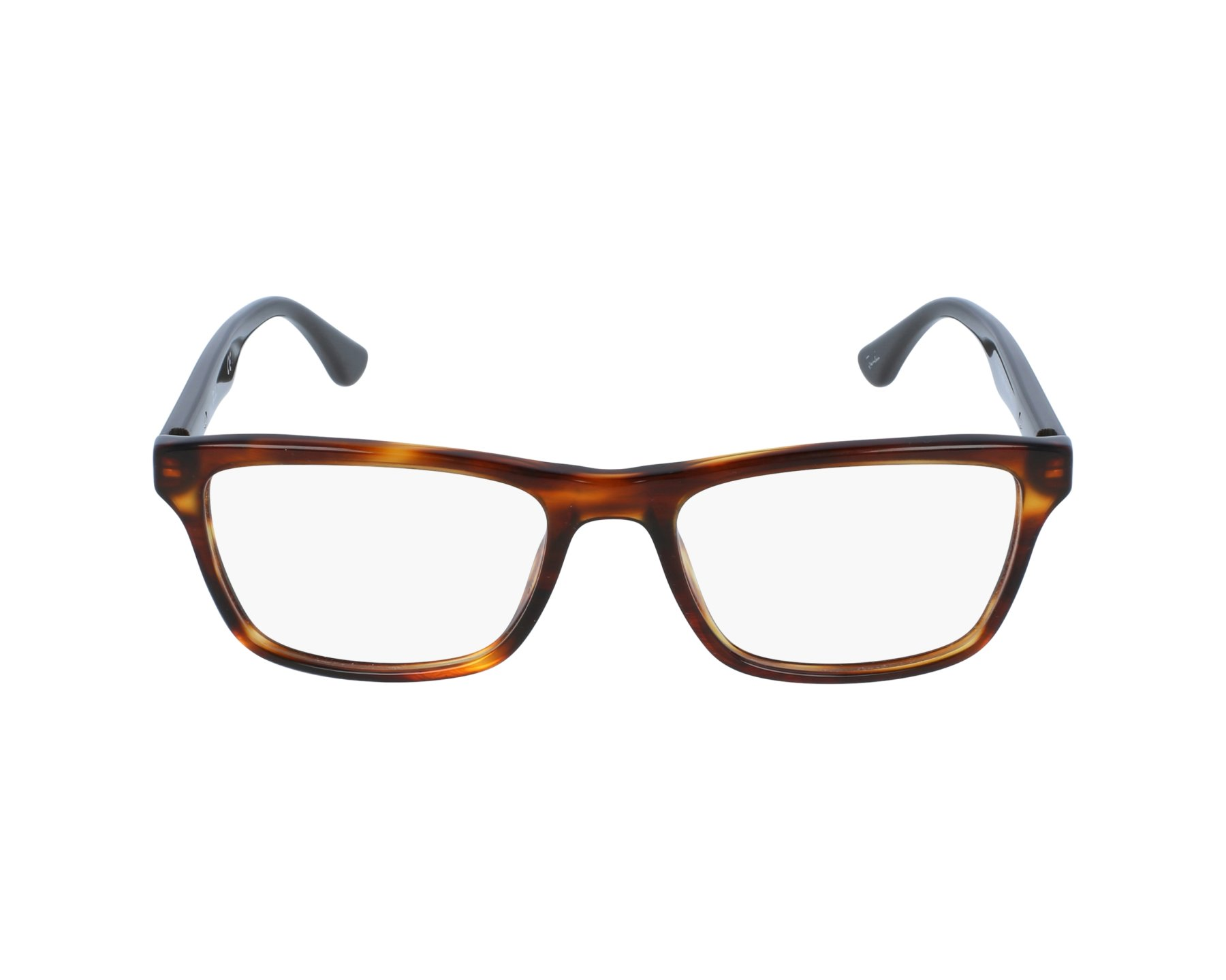 56e6a6e24b eyeglasses Ray-Ban RX-5279 5691 53-18 Havana Brown profile view