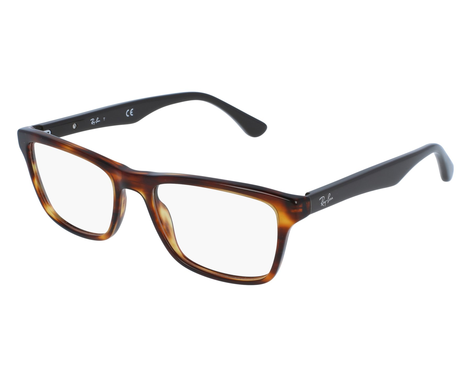 cf858919a0 eyeglasses Ray-Ban RX-5279 5691 53-18 Havana Brown front view