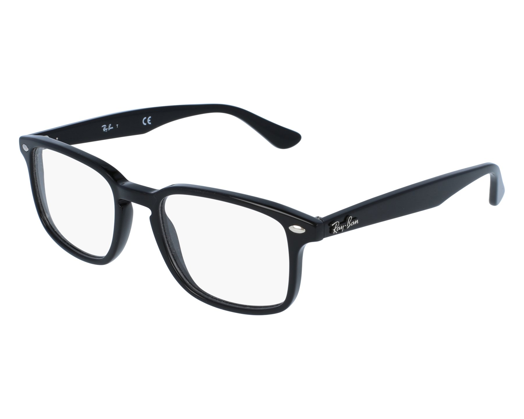 b1882c4993 eyeglasses Ray-Ban RX-5353 2000 50-19 Black front view