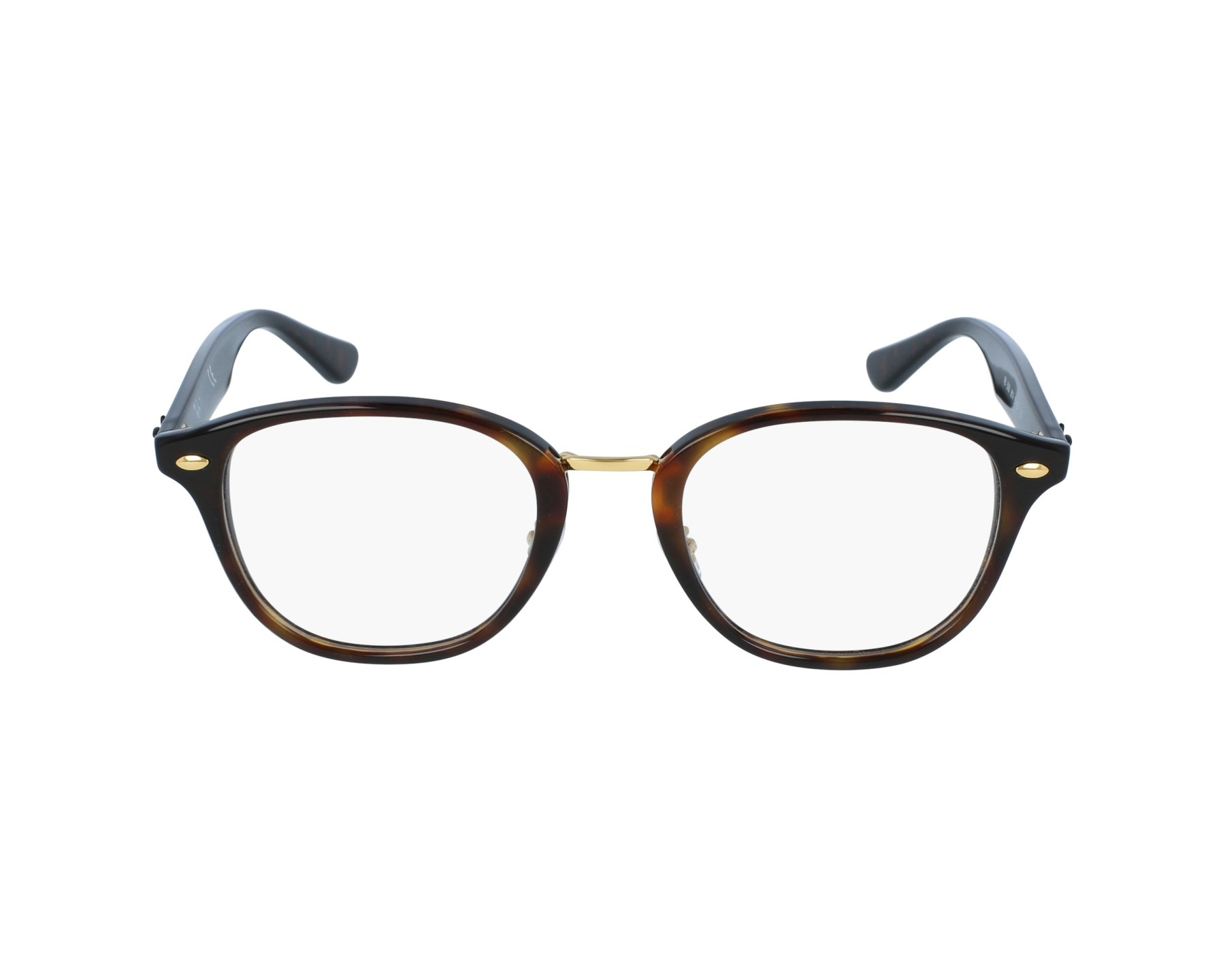 b5d16f1a8c262 eyeglasses Ray-Ban RX-5355 5674 48-21 Havana Brown profile view