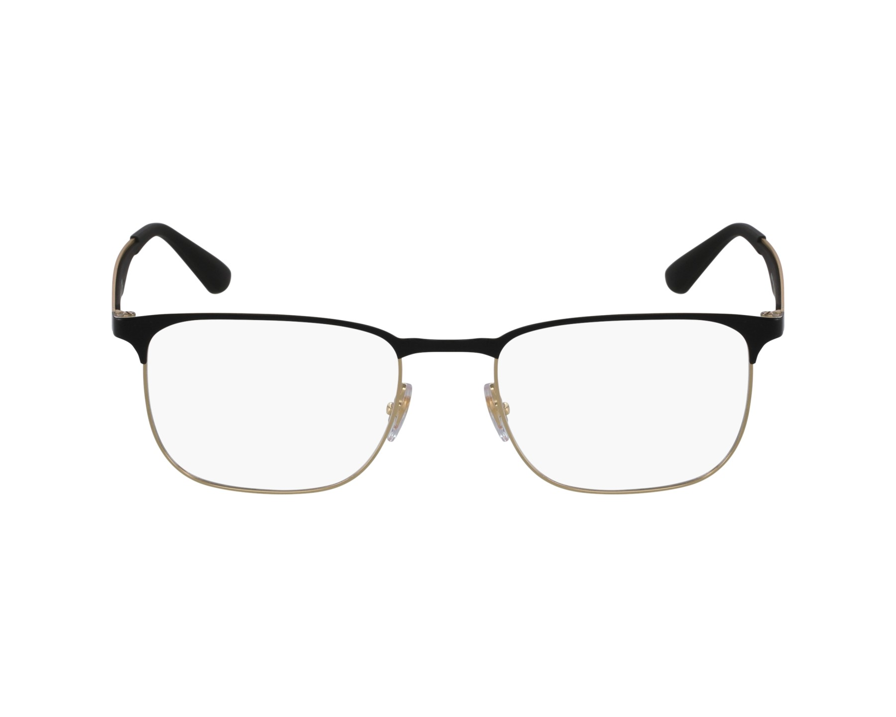 c5a12827d9 eyeglasses Ray-Ban RX-6363 2890 54-18 Black Gold profile view