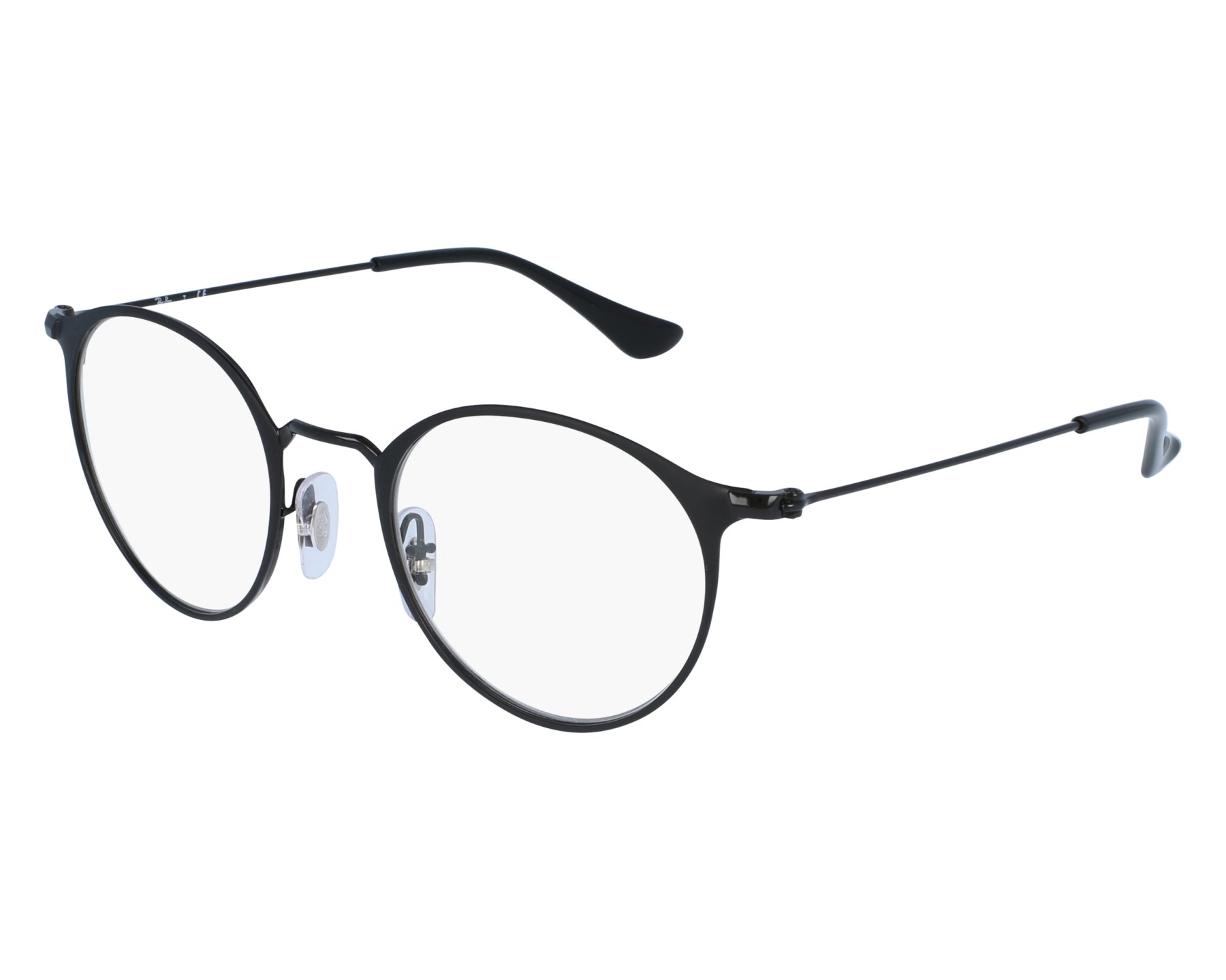 79c7d5f5f475c eyeglasses Ray-Ban RX-6378 2904 47-21 Black front view