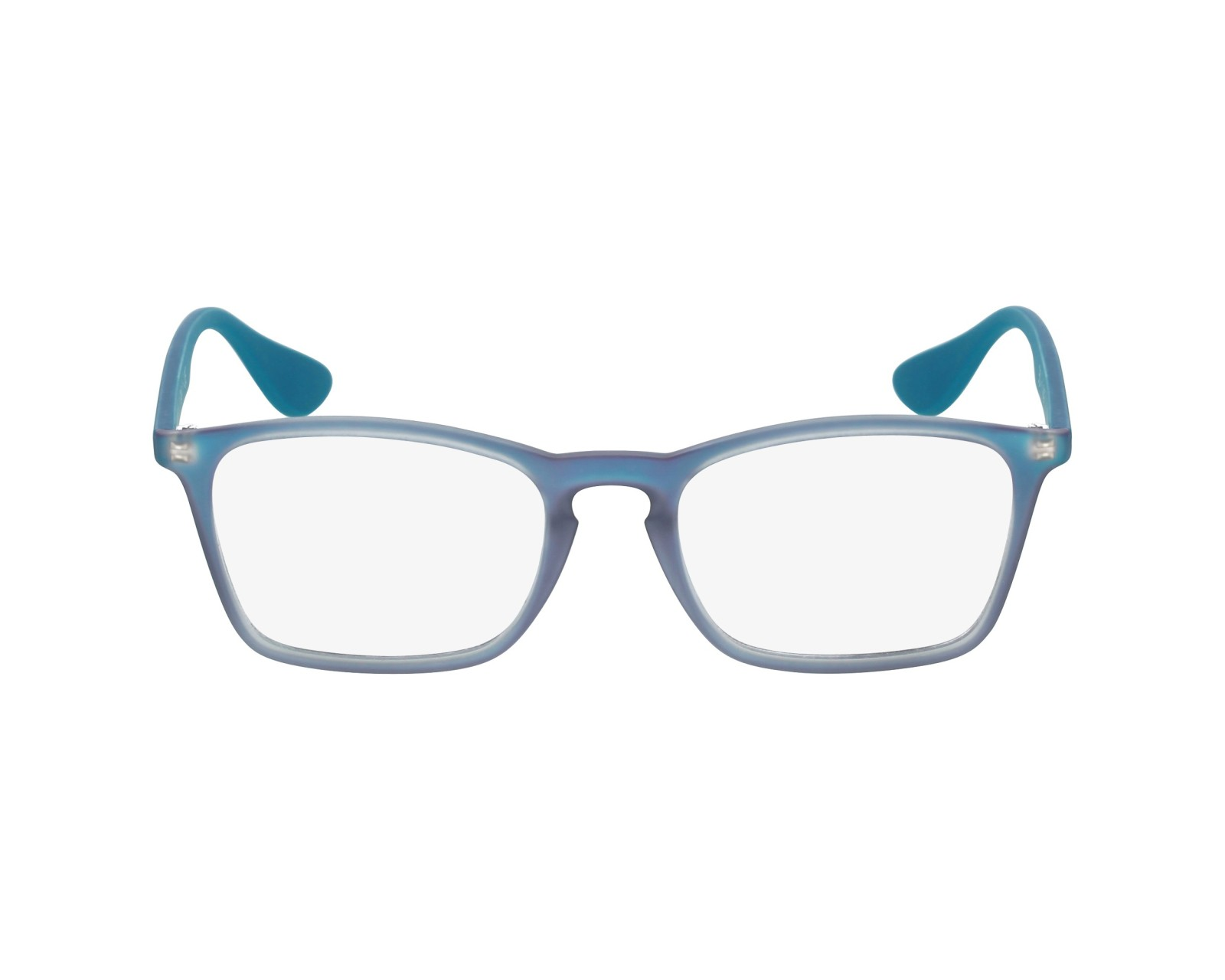 61a39188052 eyeglasses Ray-Ban RX-7045 5484 55-18 Blue profile view