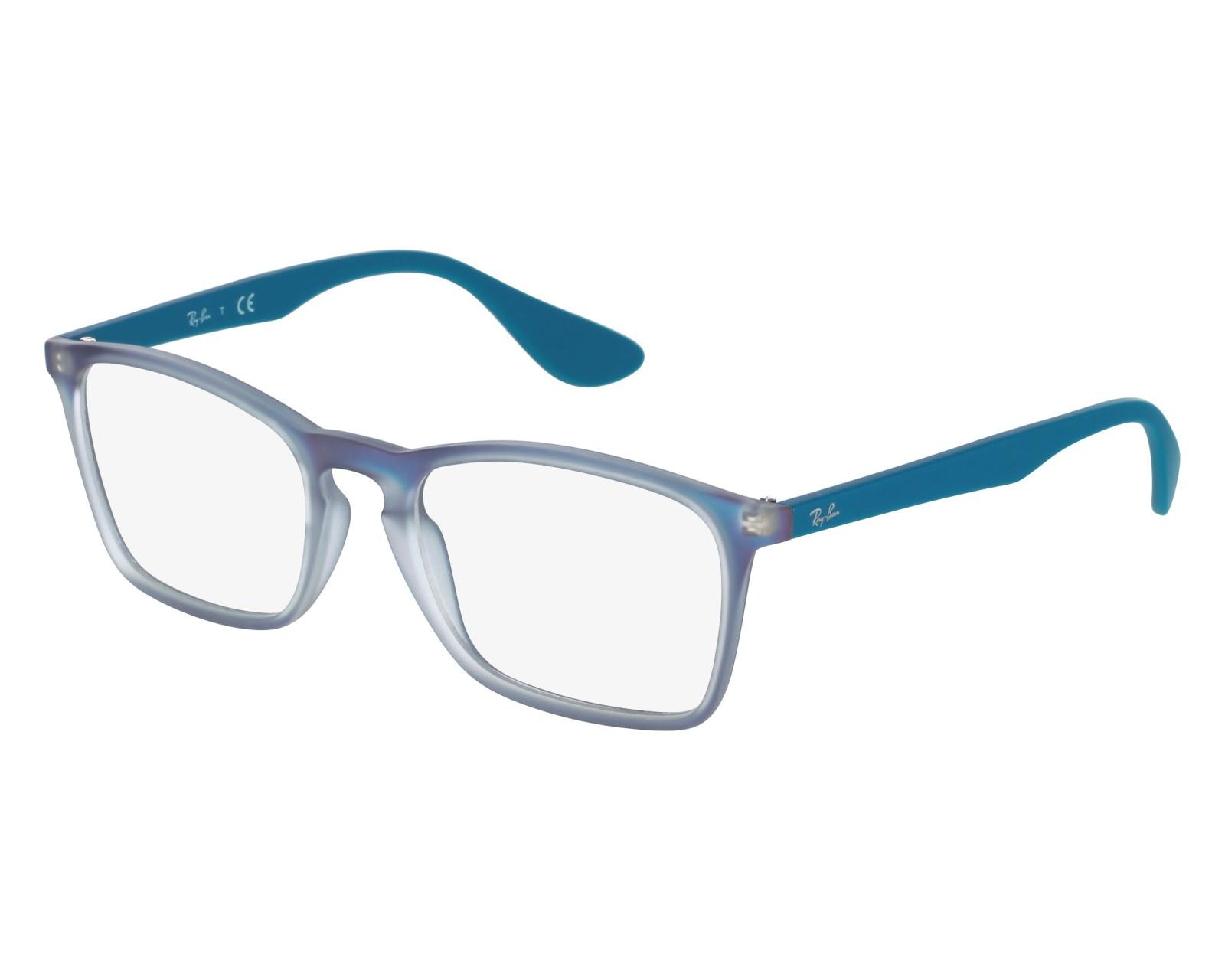 64474c474b2 eyeglasses Ray-Ban RX-7045 5484 55-18 Blue front view