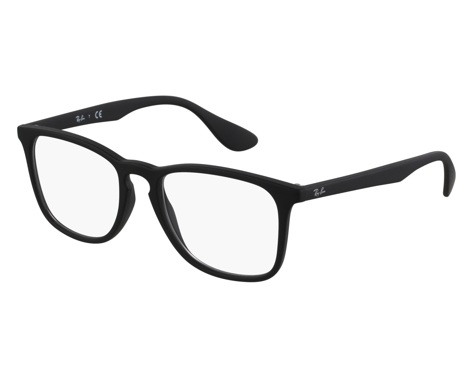 7b44d700328 eyeglasses Ray-Ban RX-7074 5364 52-18 Black front view