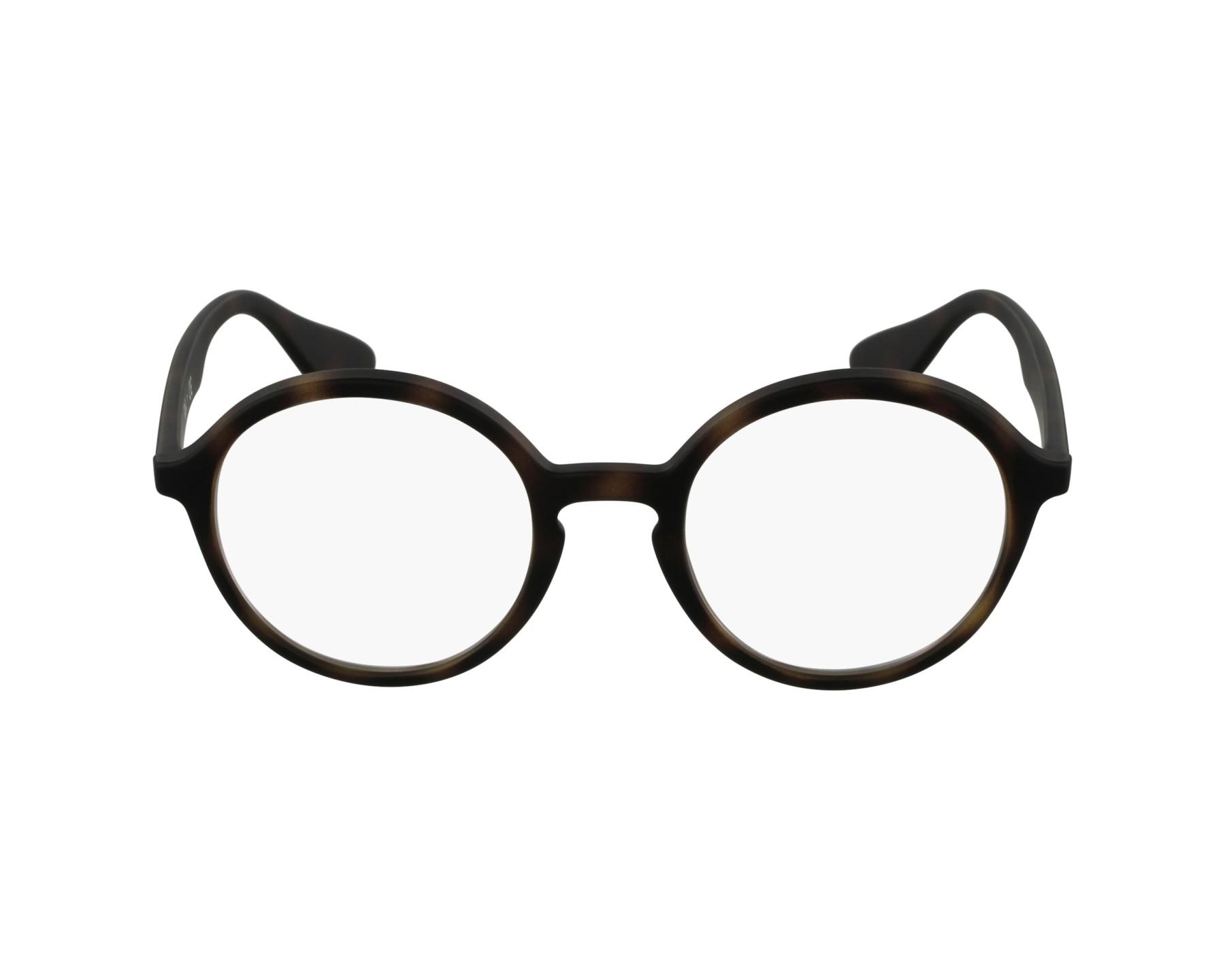 eyeglasses Ray-Ban RX-7075 5365 47-20 Havana profile view 8b5dbf69934da