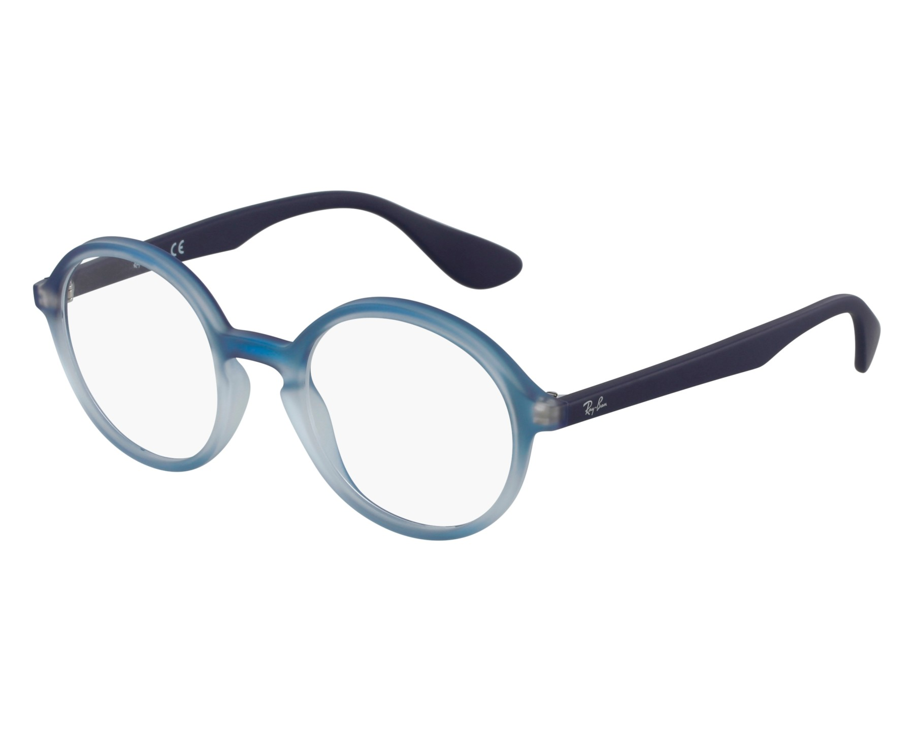 10686c9853 eyeglasses Ray-Ban RX-7075 5601 47-20 Blue front view