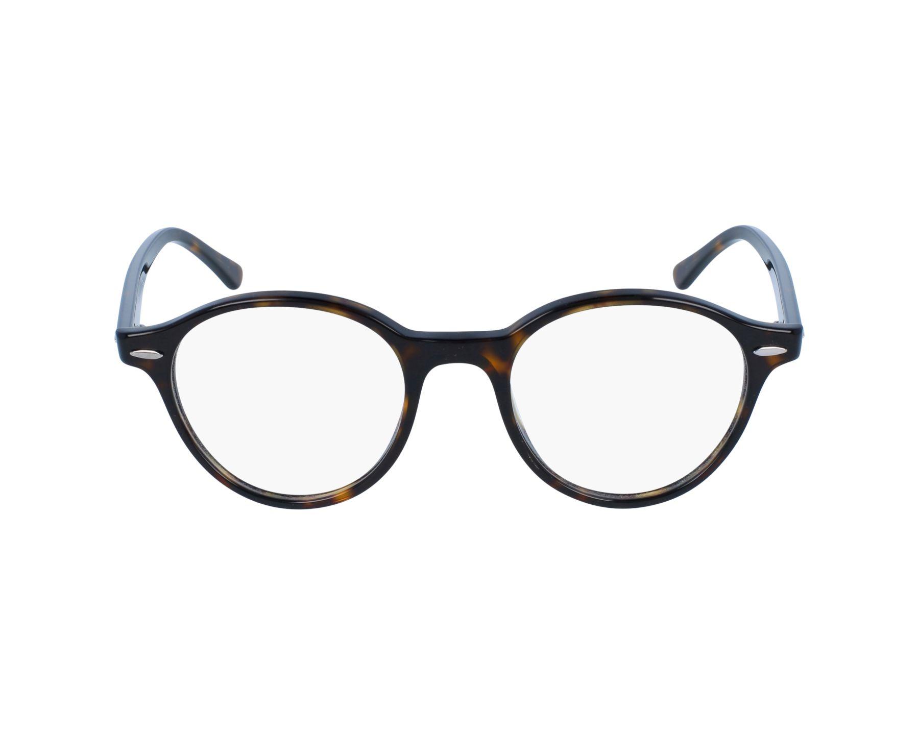 2cab07917bb eyeglasses Ray-Ban RX-7118 2012 48-19 Havana profile view