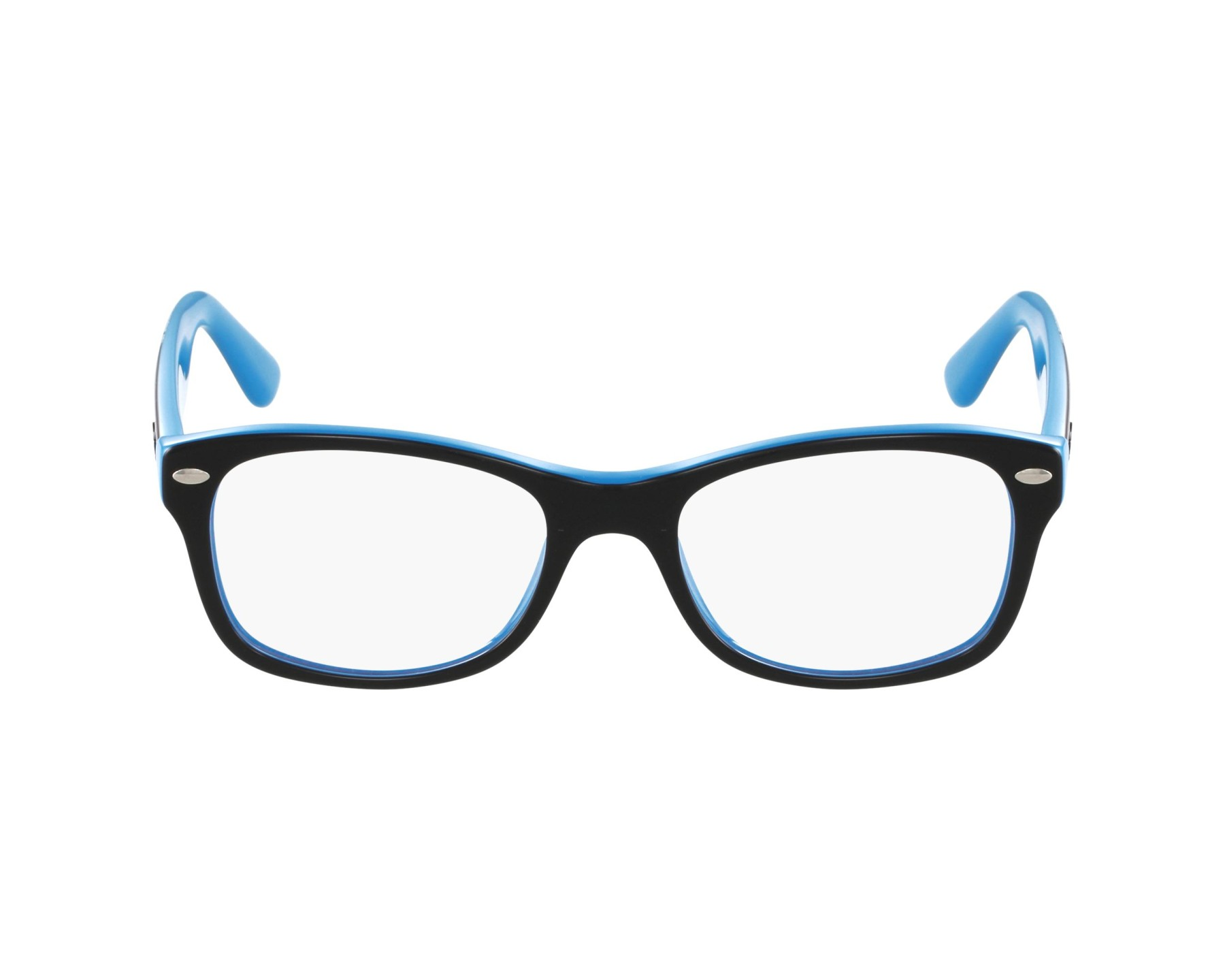 ba85761dc2 eyeglasses Ray-Ban RY-1528 3659 - Black Blue profile view