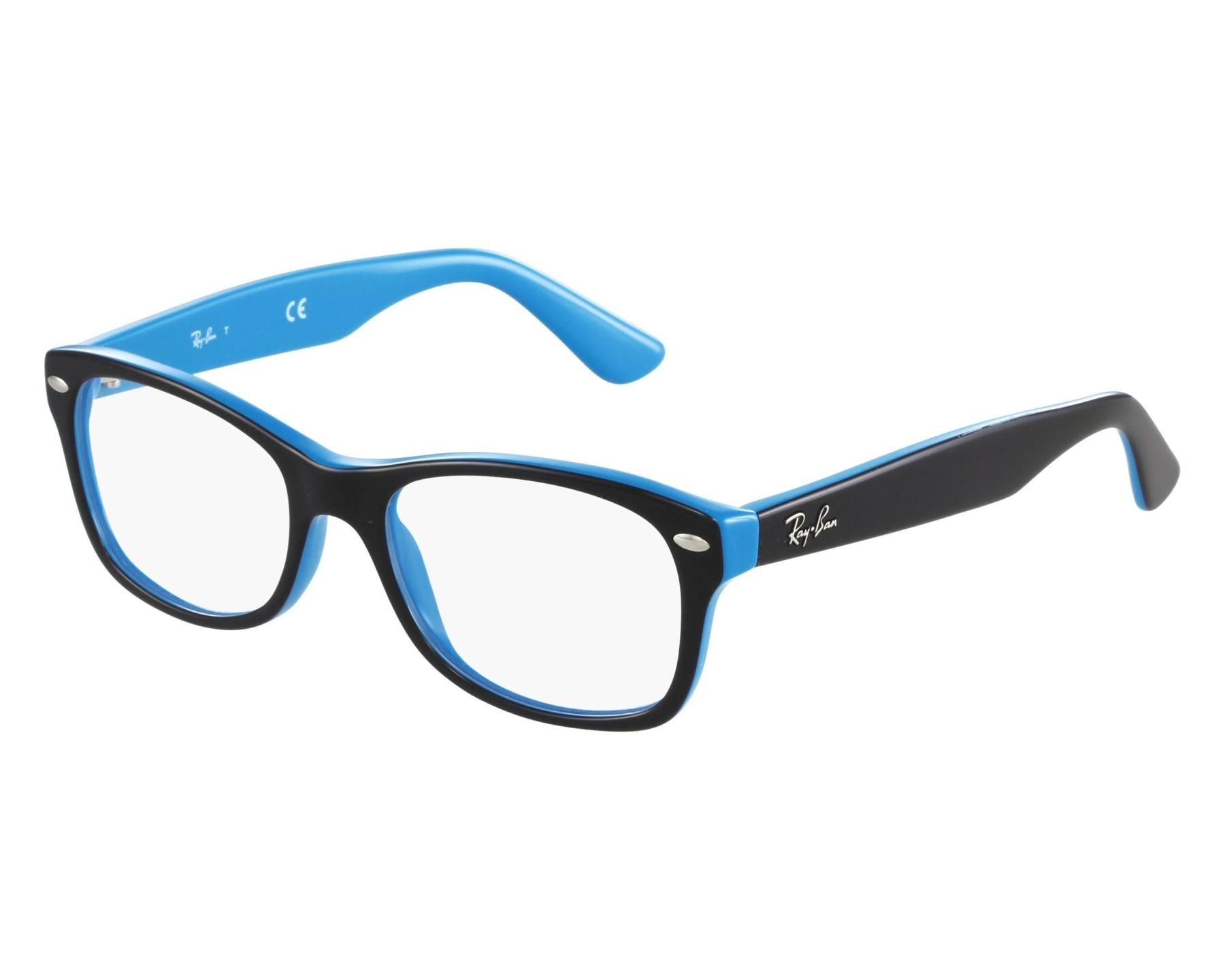 d47b4a2a76 eyeglasses Ray-Ban RY-1528 3659 - Black Blue front view