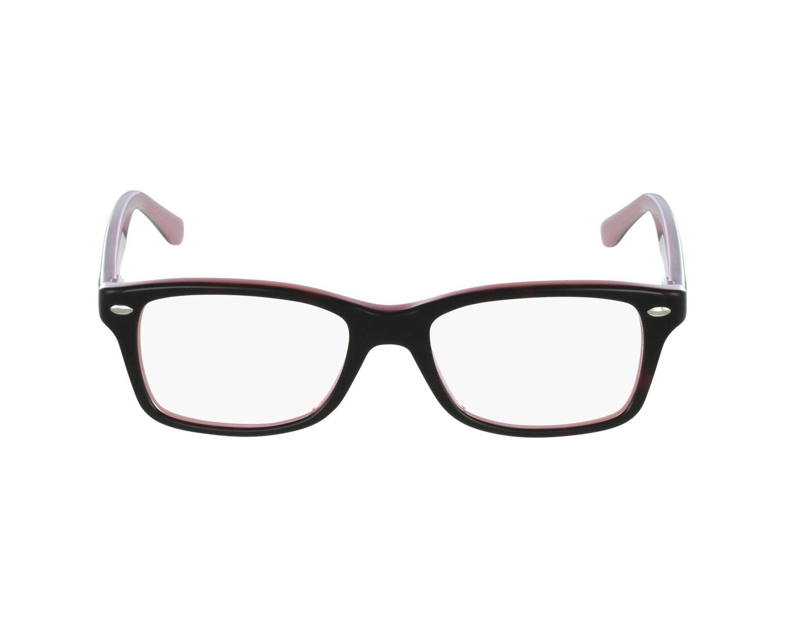 366eb3b18a6 eyeglasses Ray-Ban RY-1531 3580 48-16 Black Pink profile view
